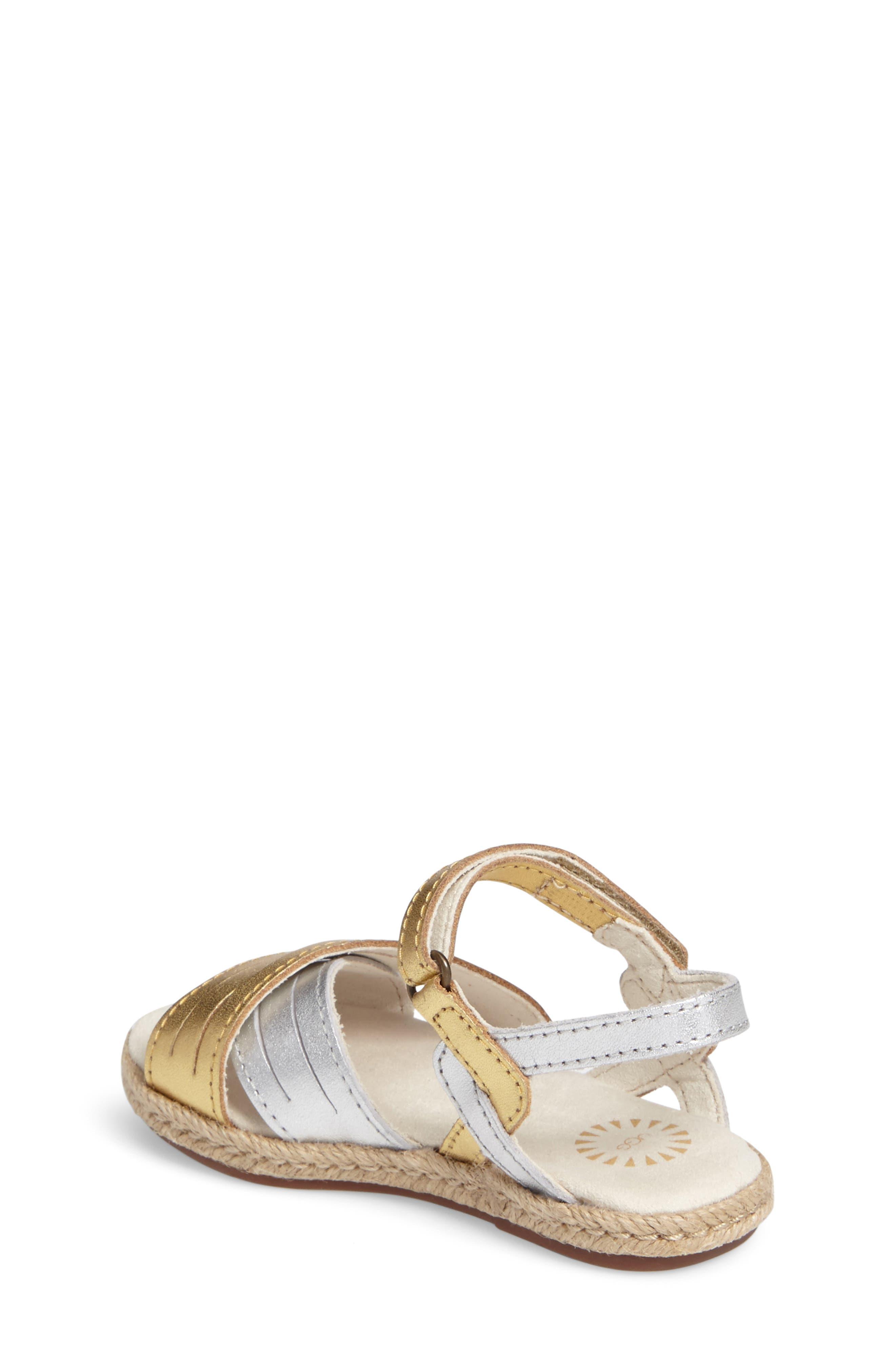 Alternate Image 2  - UGG® Addilyn Sandal (Walker & Toddler)