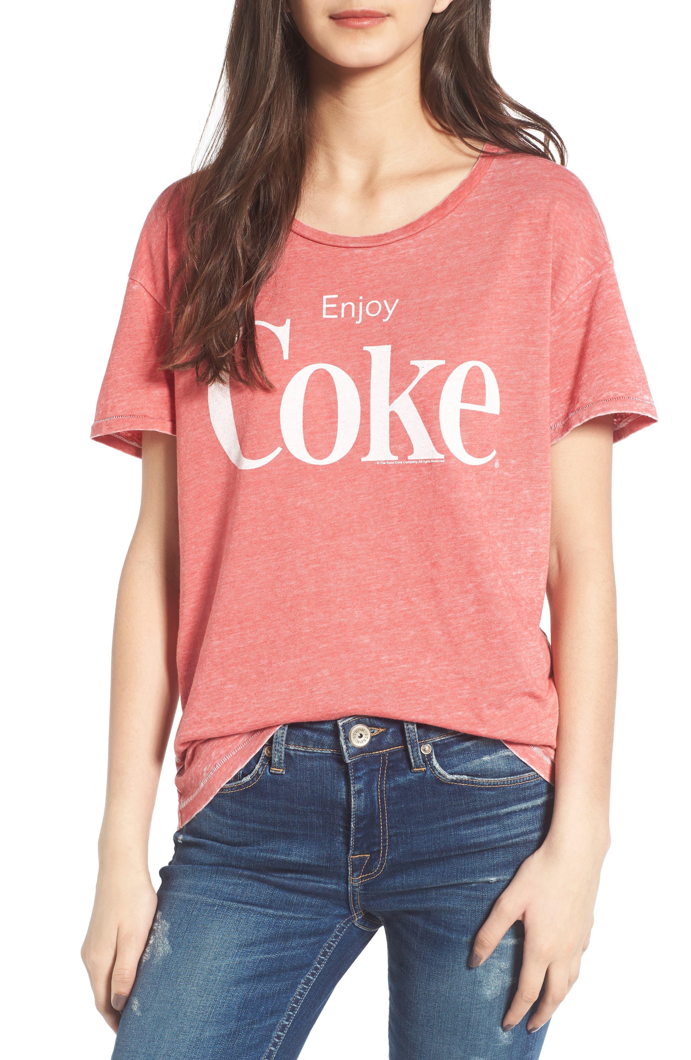 JUNK FOOD Enjoy Coke Tee