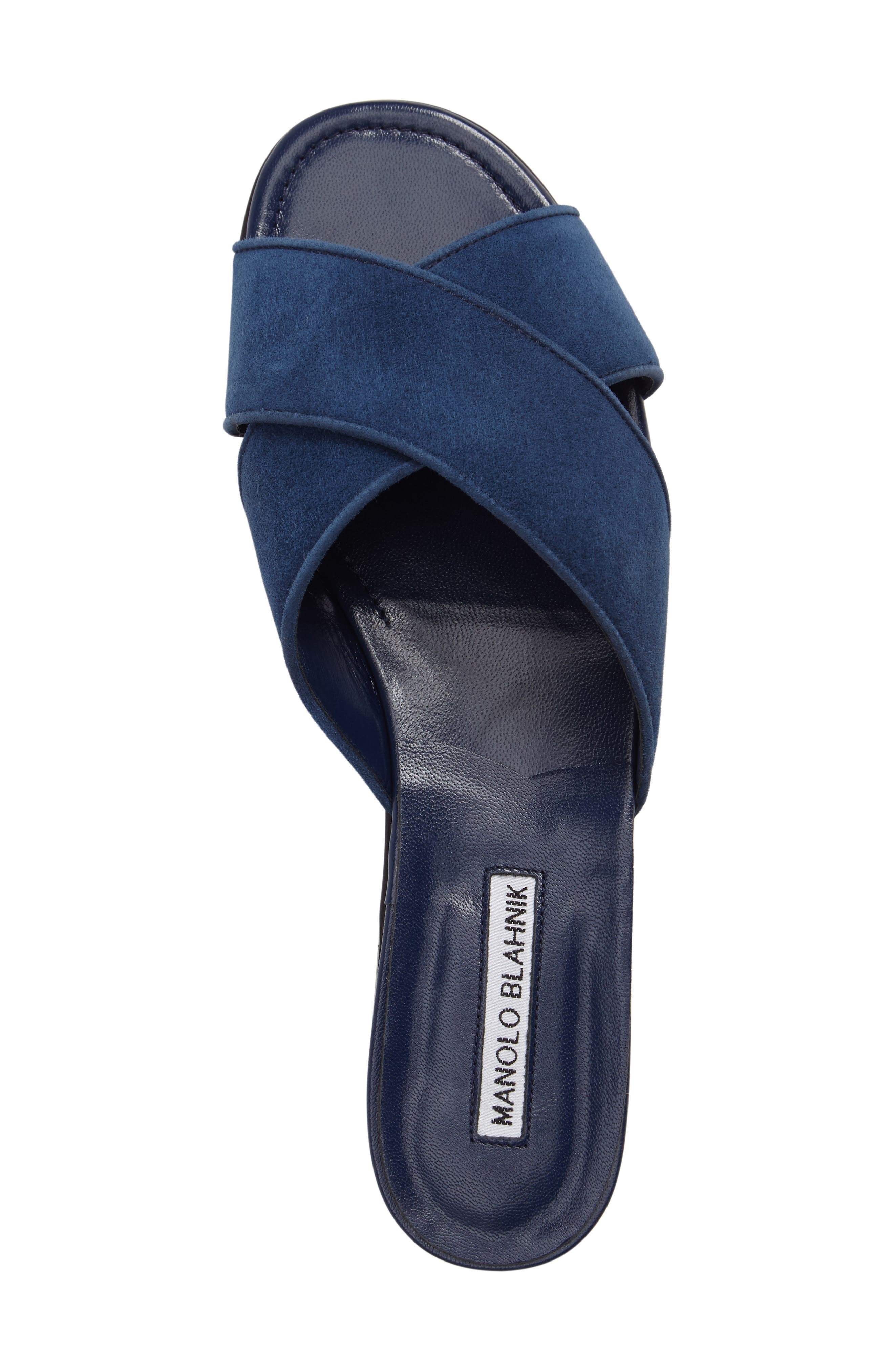 Alternate Image 5  - Manolo Blahnik Otawi Slide Sandal (Women)