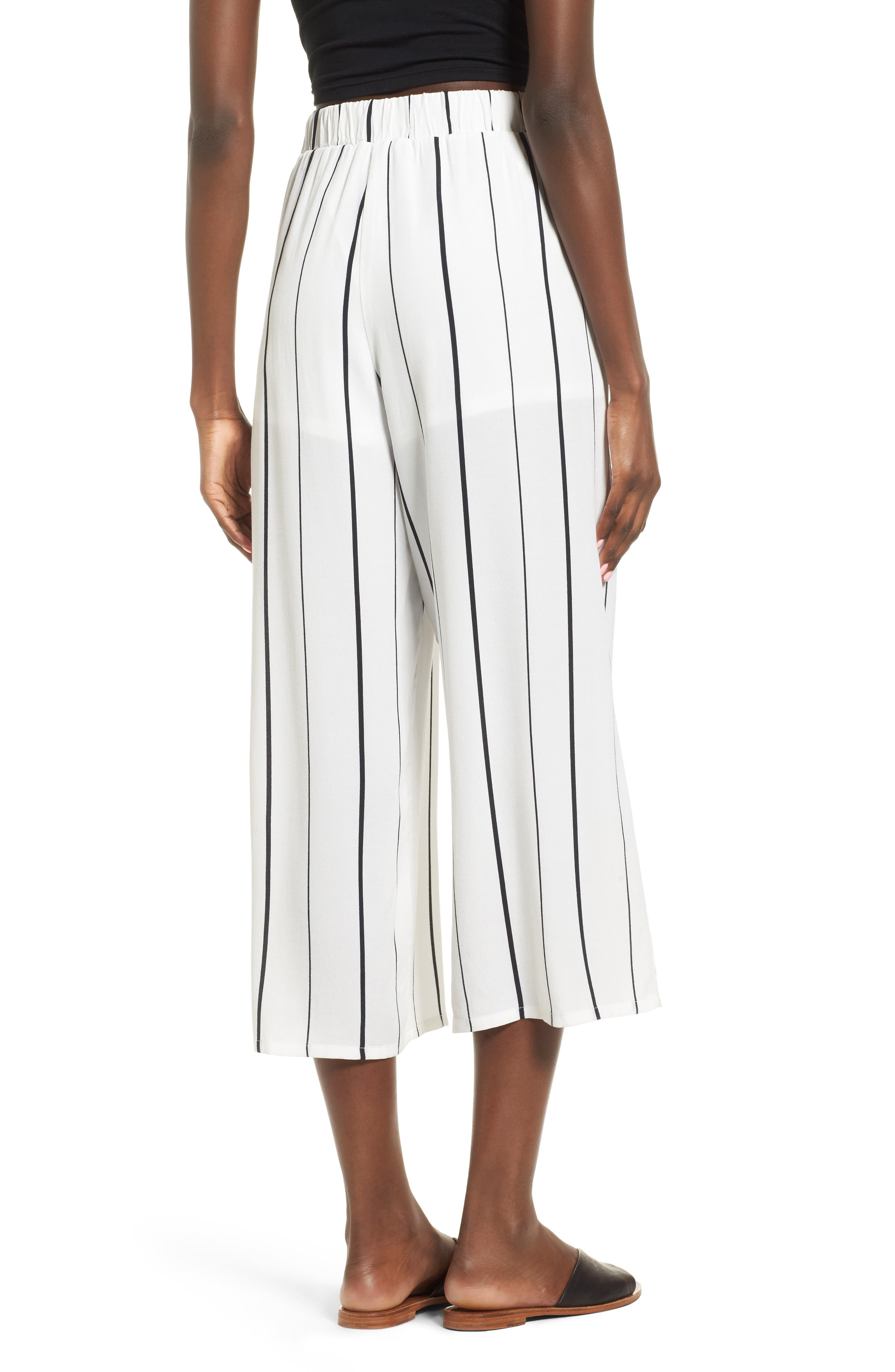 Alternate Image 2  - Leith Tie High Rise Crop Pants