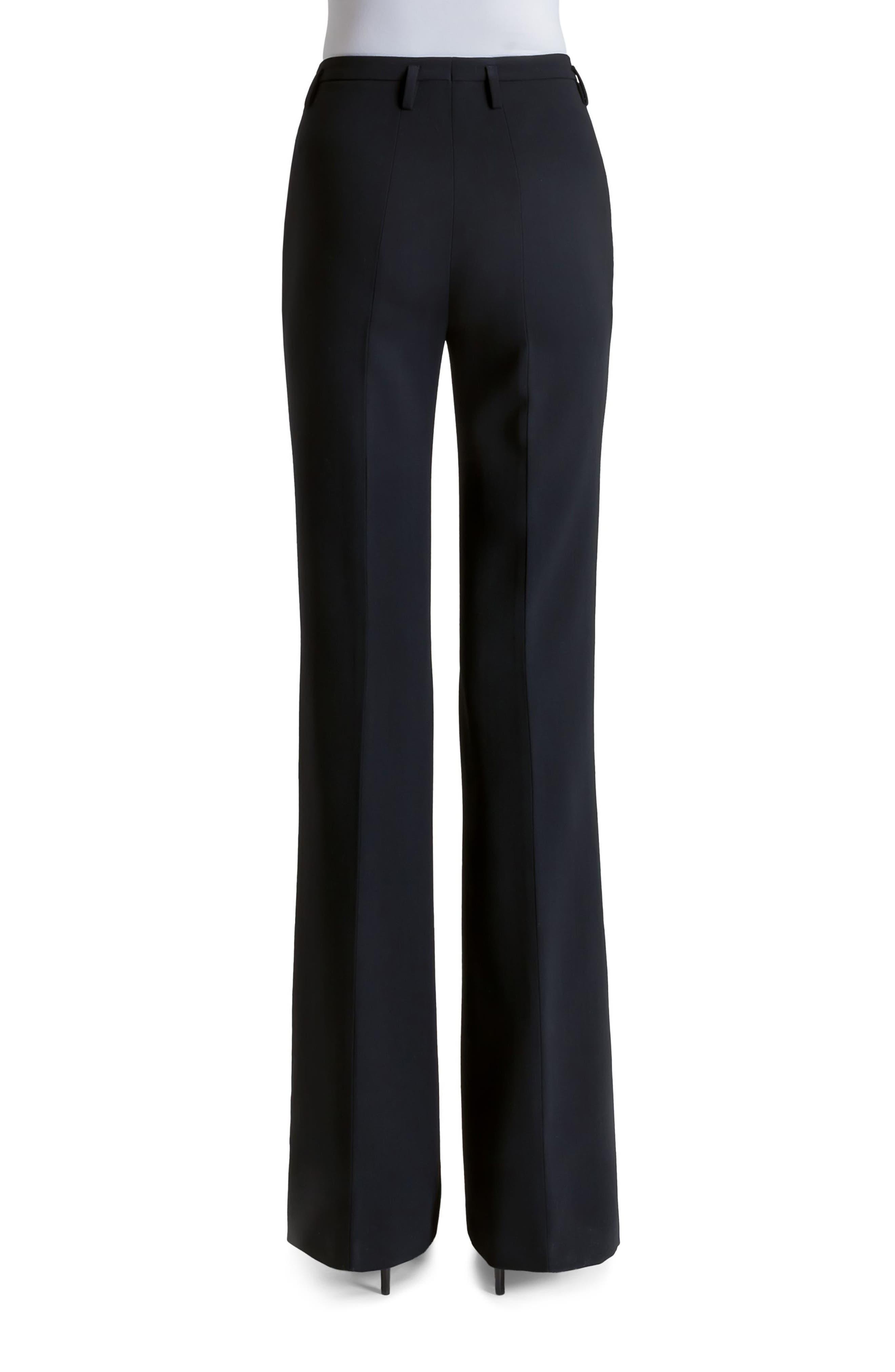 Alternate Image 2  - Akris Farrah Stretch Wool Flare Pants