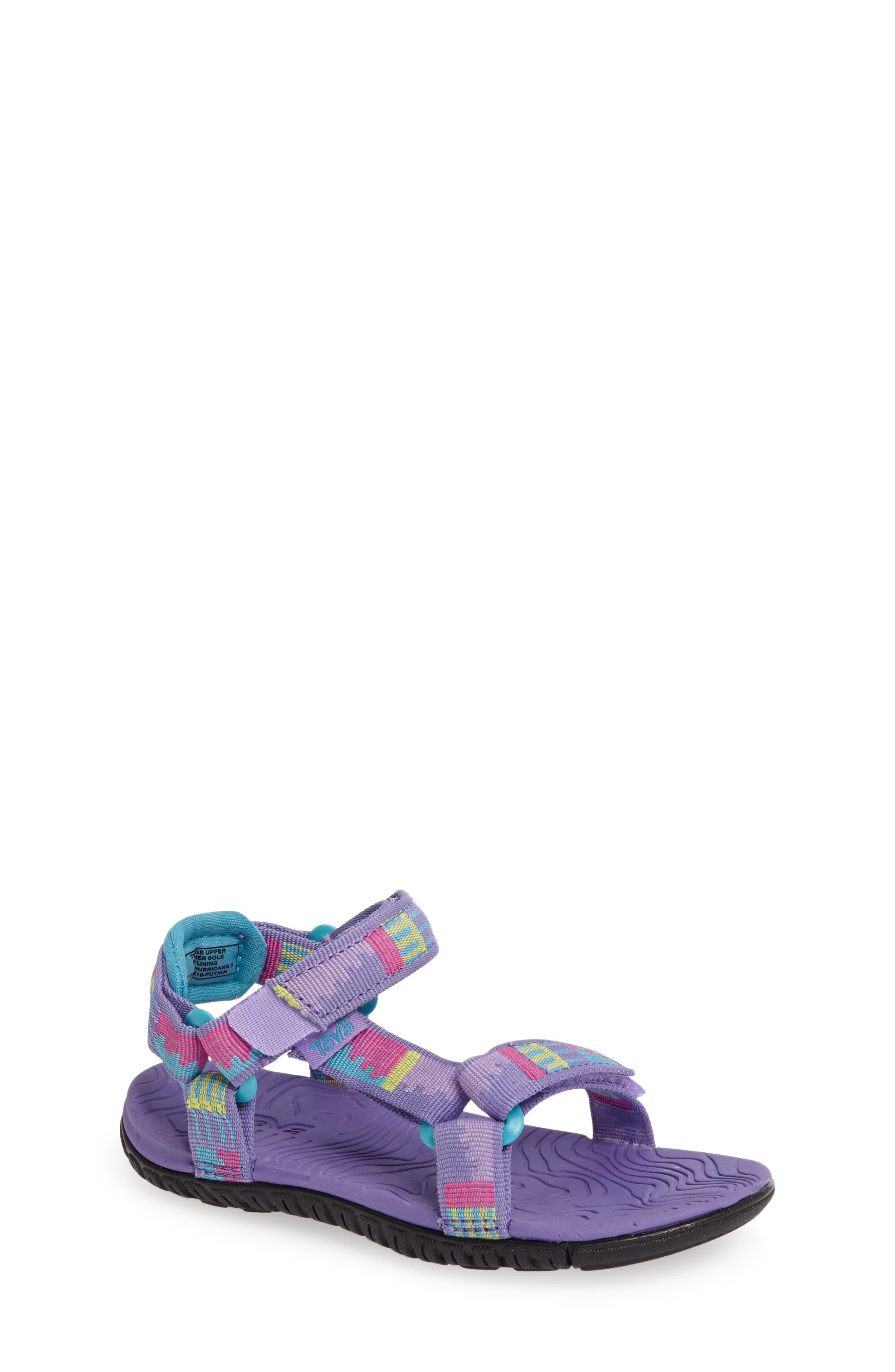 'Hurricane 3' Sport Sandal,                             Main thumbnail 1, color,                             Purple