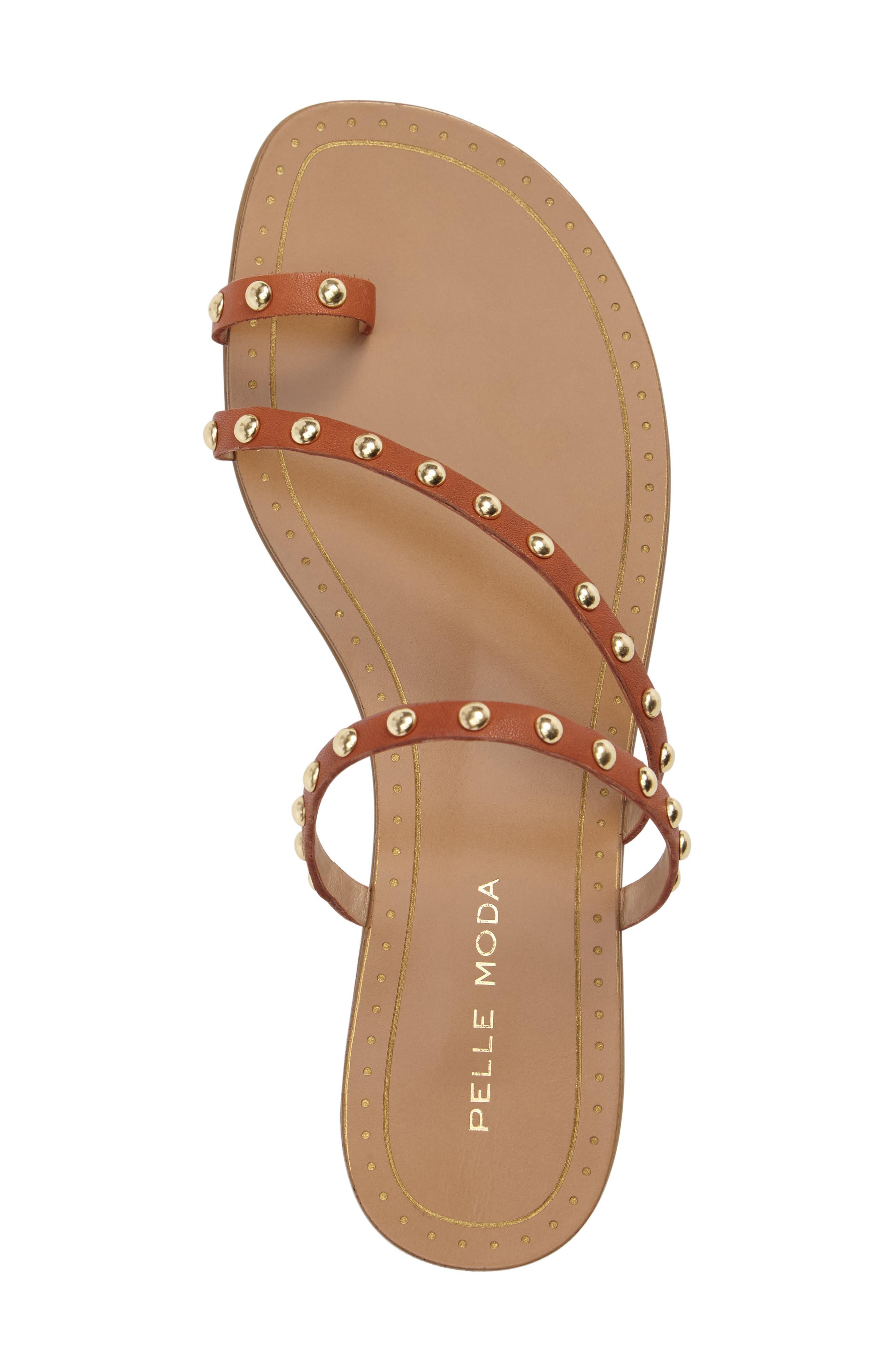 Alternate Image 5  - Pelle Moda Bohem 2 Studded Sandal (Women)