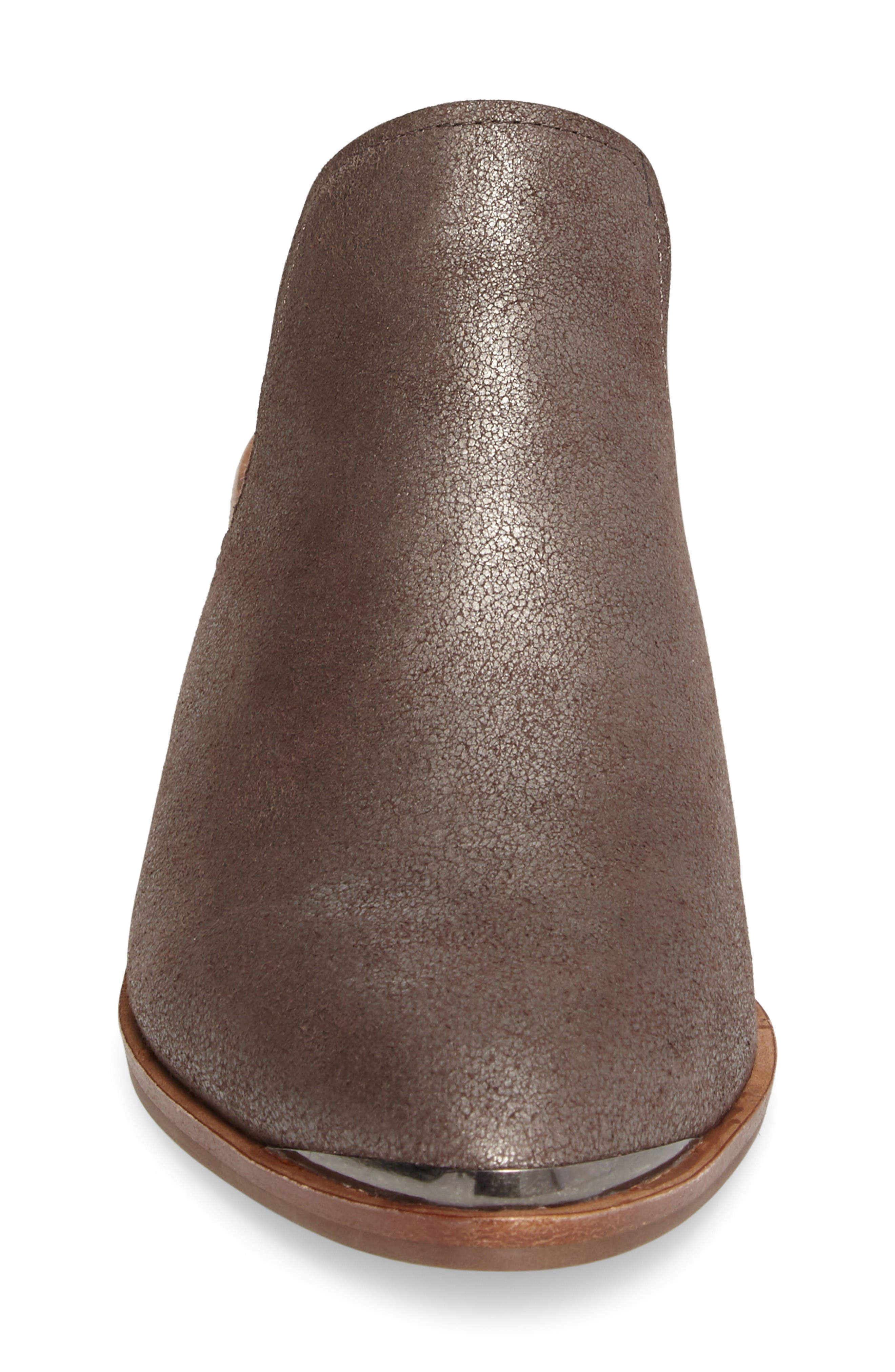 Layitonme Mule,                             Alternate thumbnail 4, color,                             Bronze Leather