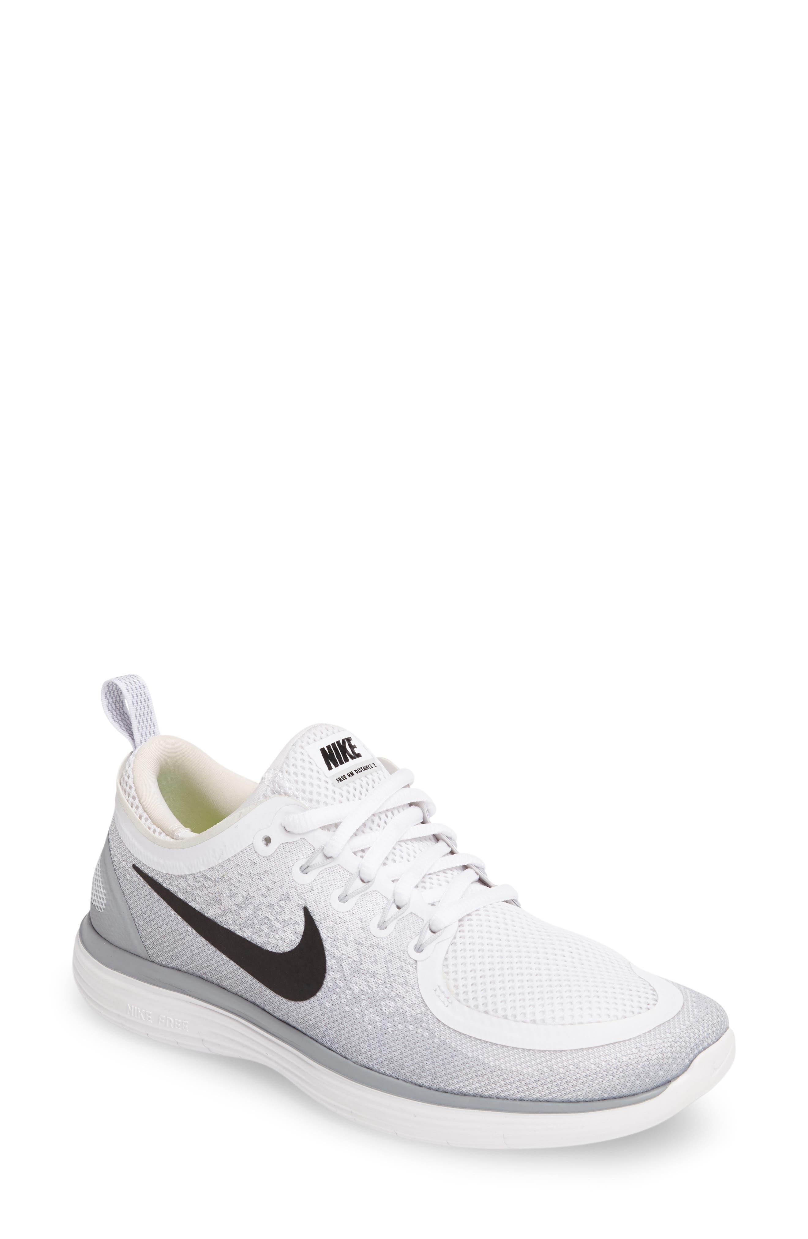 Alternate Image 1 Selected - Nike Free Run Distance 2 Running Shoe (Women)