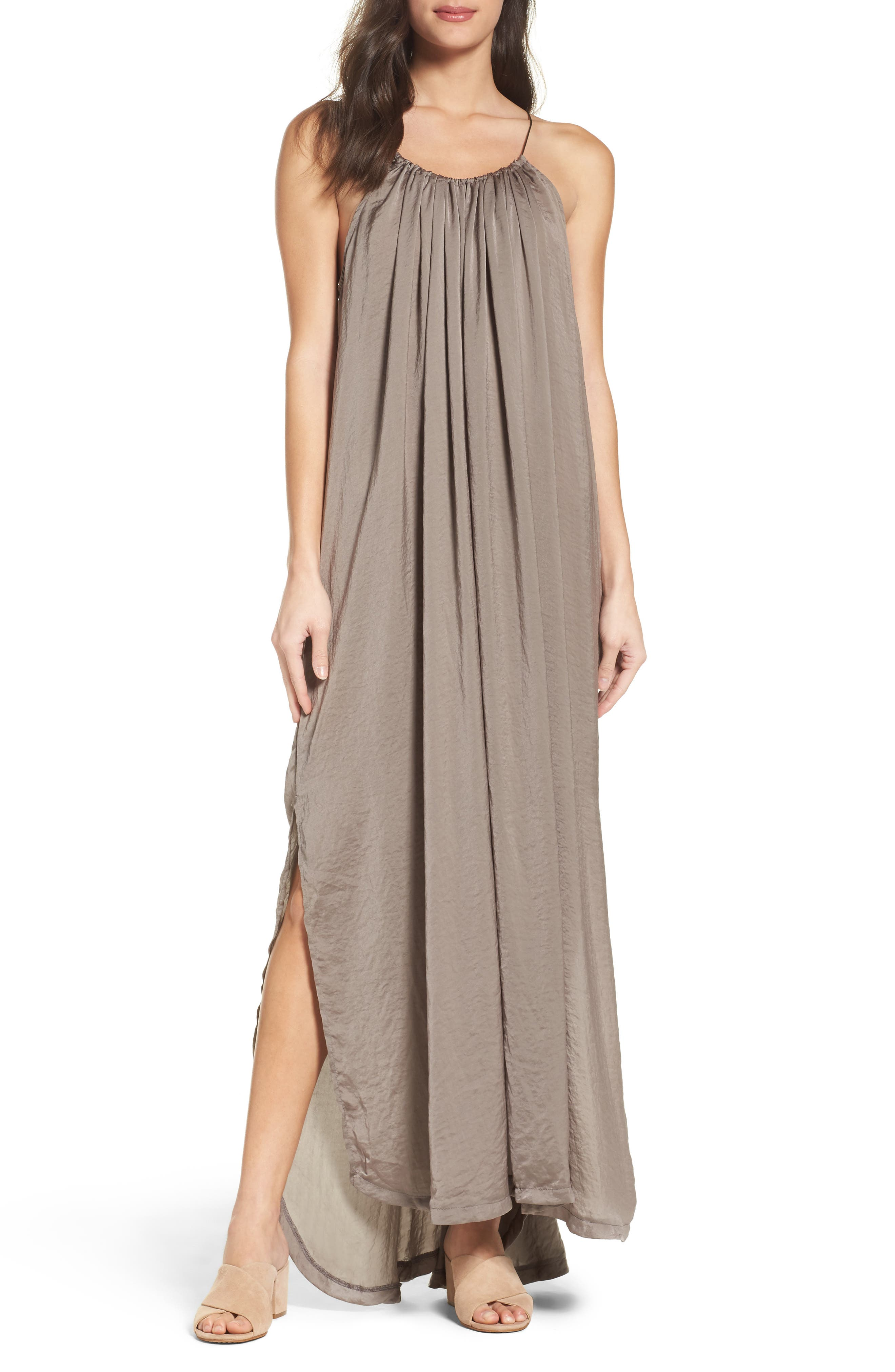 Alternate Image 1 Selected - Knot Sisters Yvonne Maxi Dress