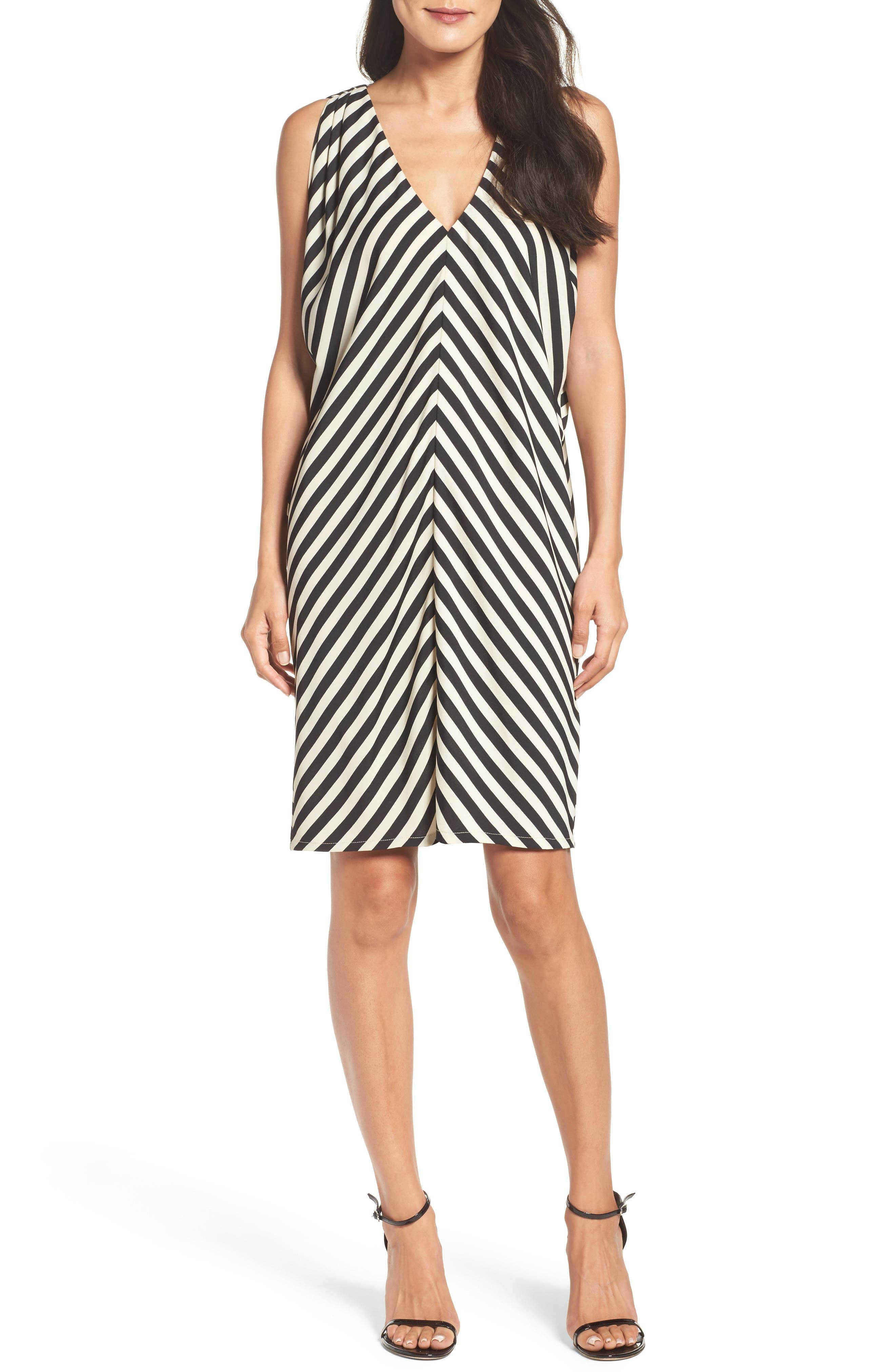 FELICITY & COCO Stripe Shift Dress