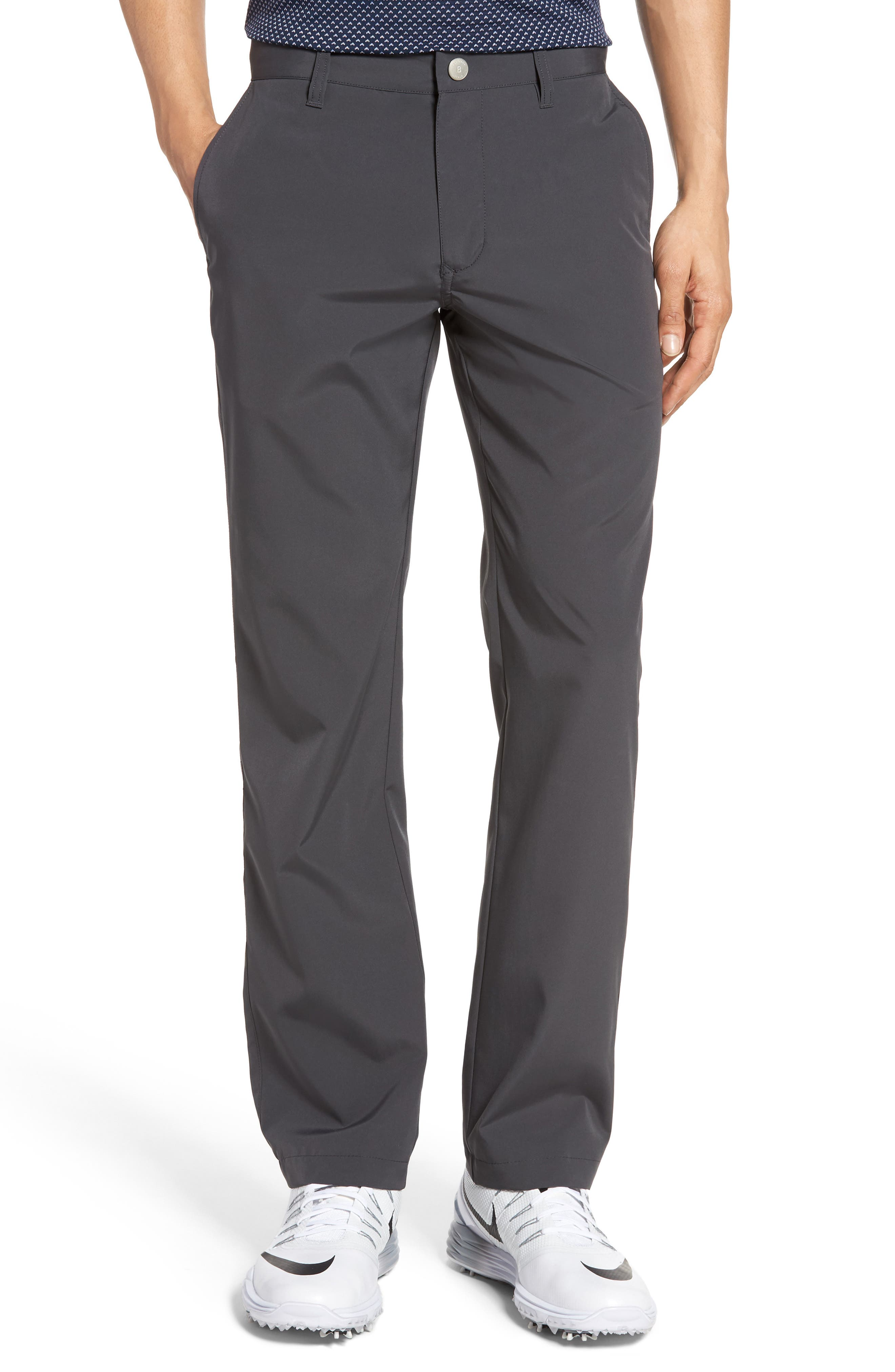 Lightweight Highland Slim Fit Golf Pants,                         Main,                         color, Charcoal