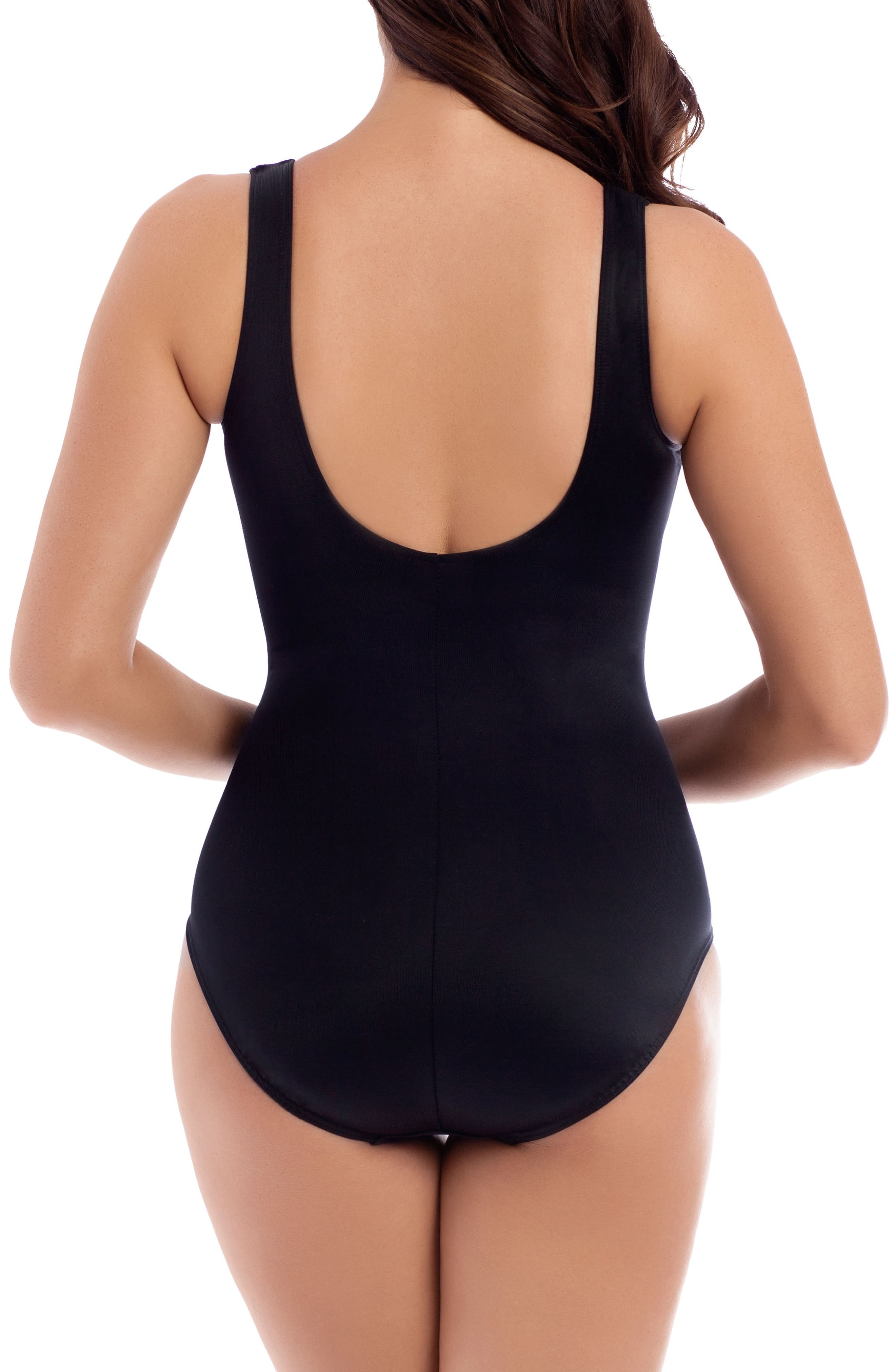 Alternate Image 2  - Miraclesuit® Mediterra It's a Wrap One-Piece Swimsuit