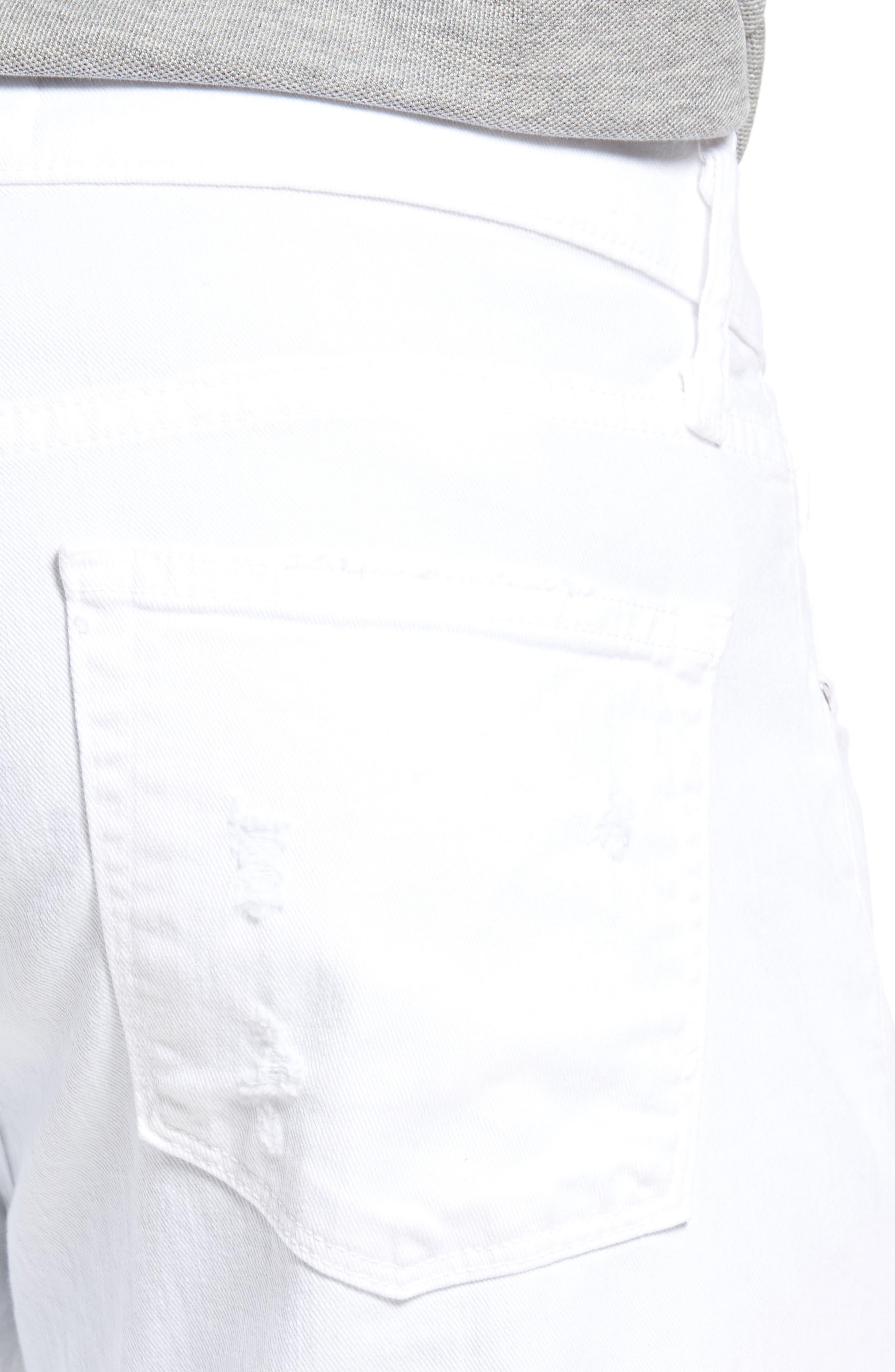 Alternate Image 4  - J Brand Tyler Slim Fit Jeans (Destructed Theoros)