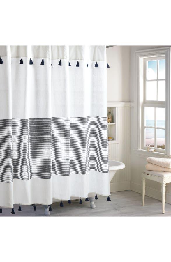 Peri Home Panama Stripe Shower Curtain | Nordstrom
