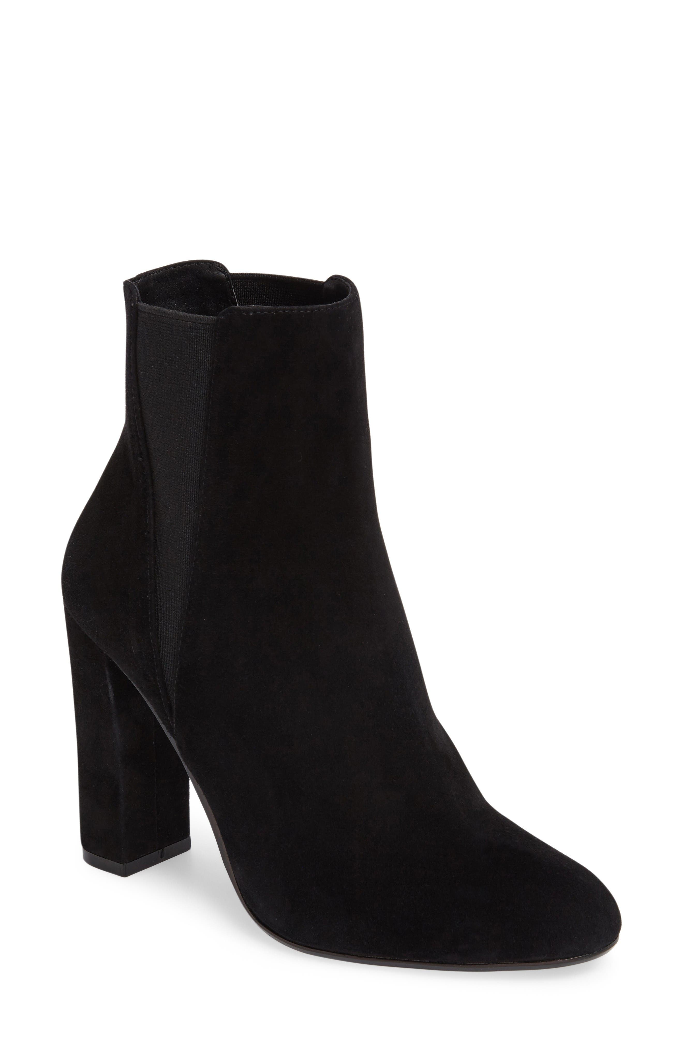 Alternate Image 1 Selected - Steve Madden Effect Block Heel Bootie (Women)