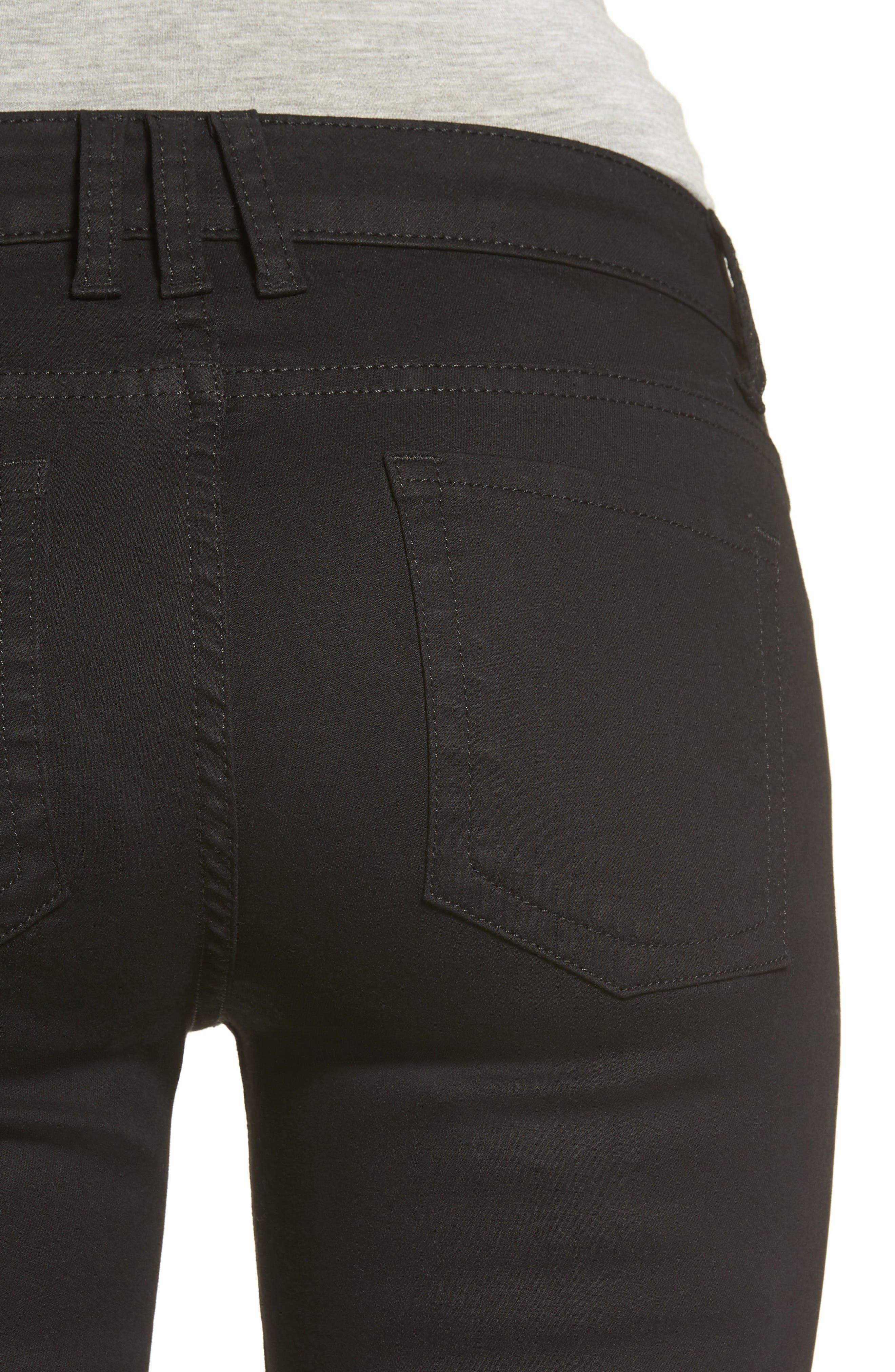 Alternate Image 4  - KUT from the Kloth Natalie Stretch Bootleg Jeans (Regular & Petite)