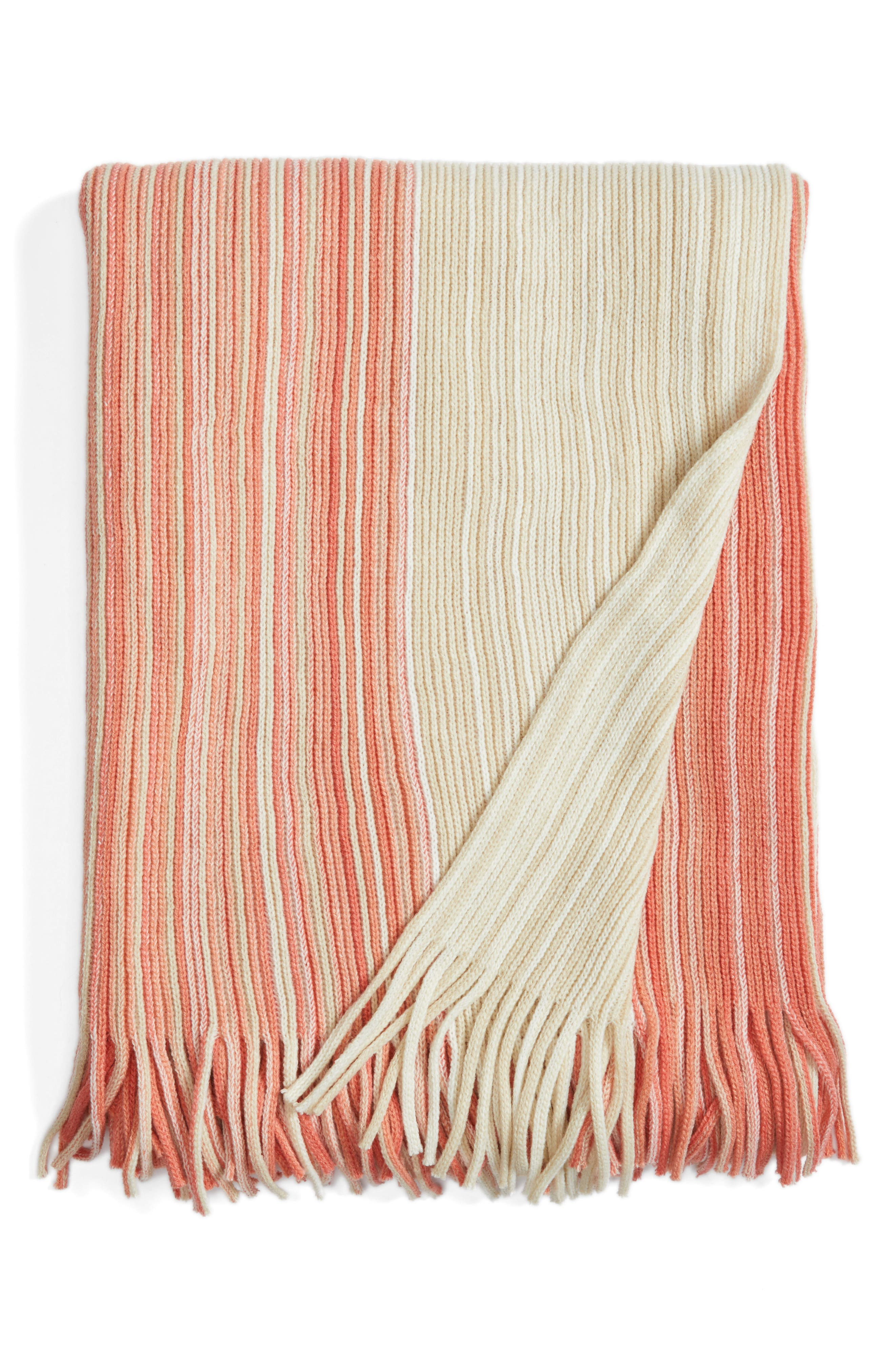 Nordstrom At Home Ombré Stripe Throw