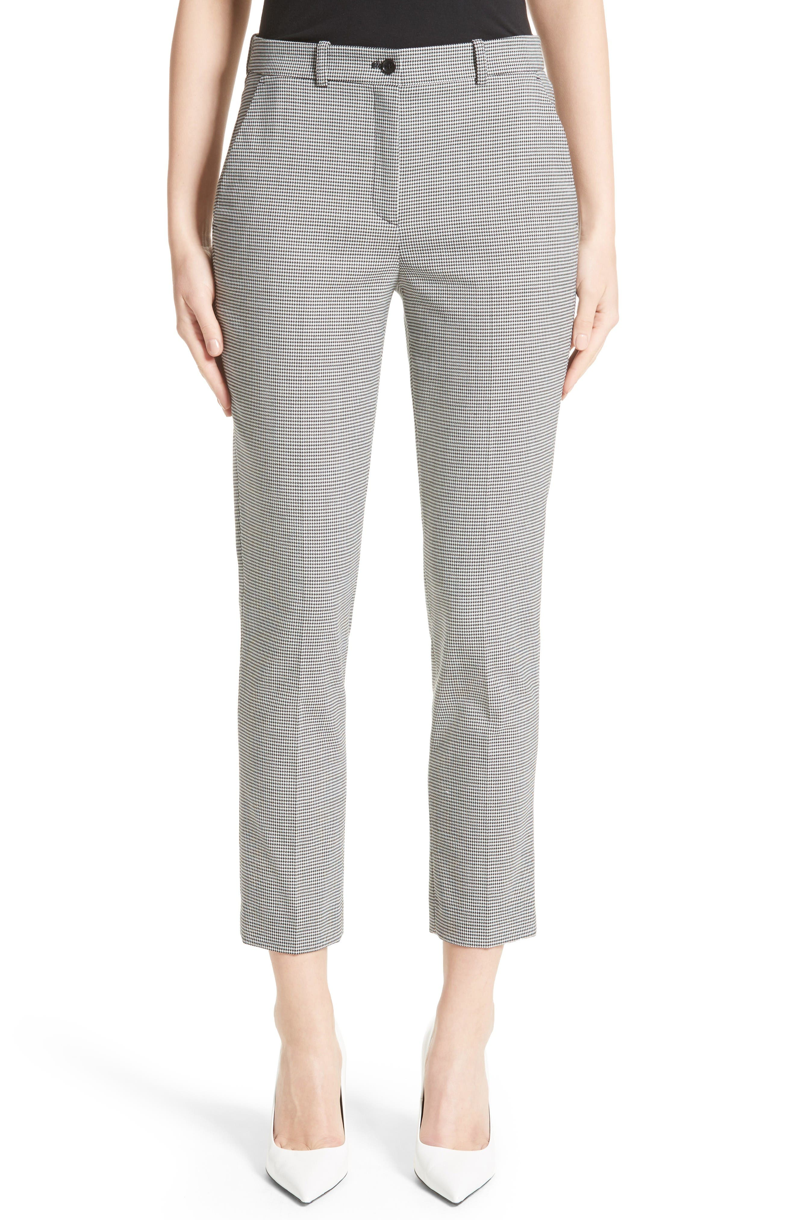 Michael Kors Samantha Houndstooth Pants