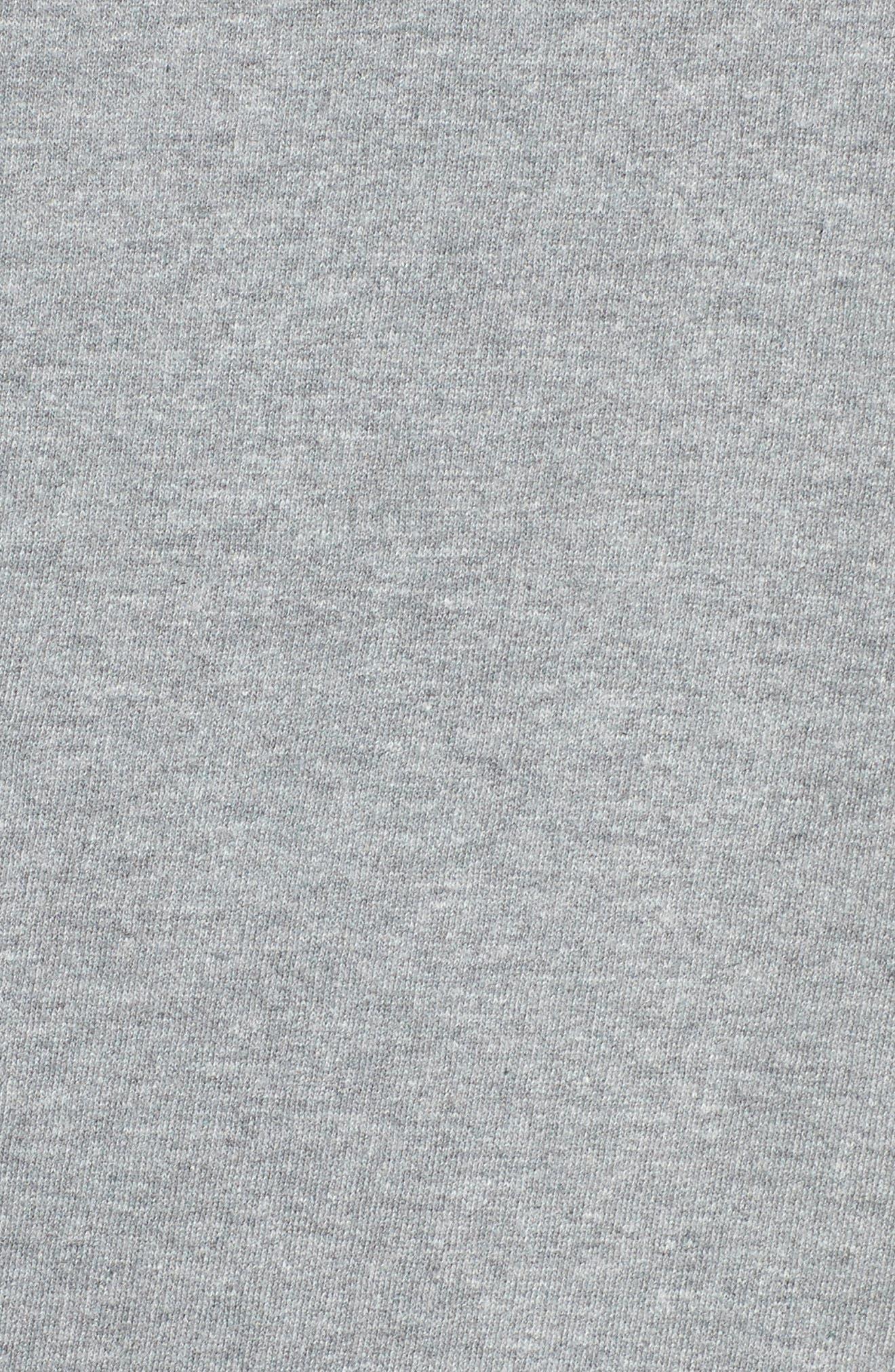 Brunette Crewneck Sweatshirt,                             Alternate thumbnail 5, color,                             Grey