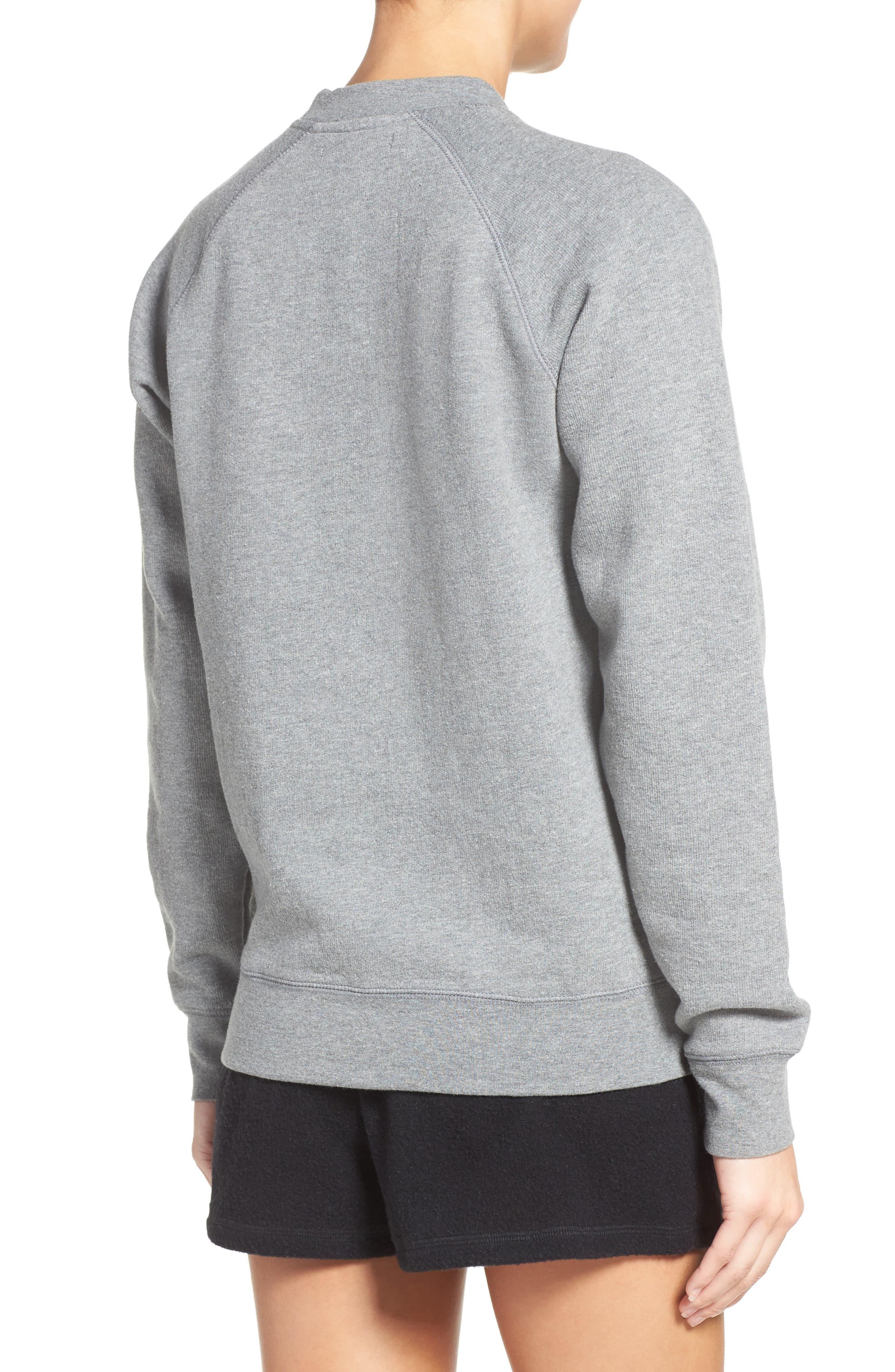 Graphic Sweatshirt,                             Alternate thumbnail 2, color,                             Grey