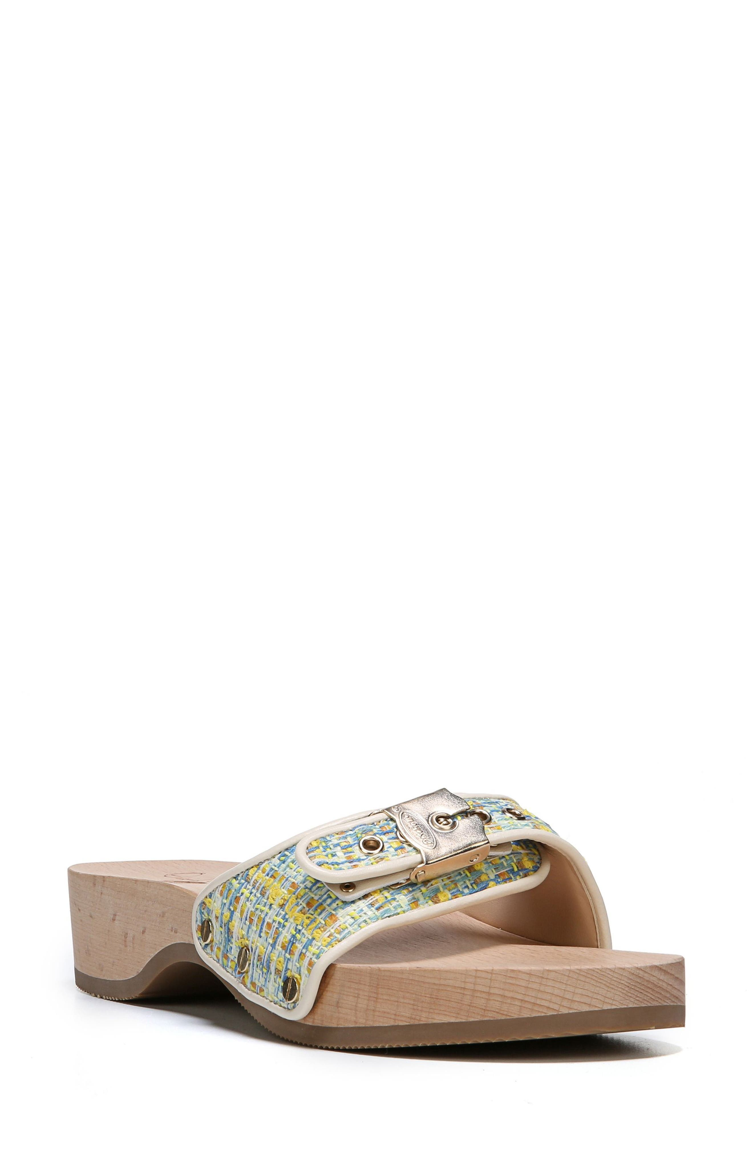 Original Collection Sandal,                             Main thumbnail 1, color,                             Yellow/ Ivory Multi