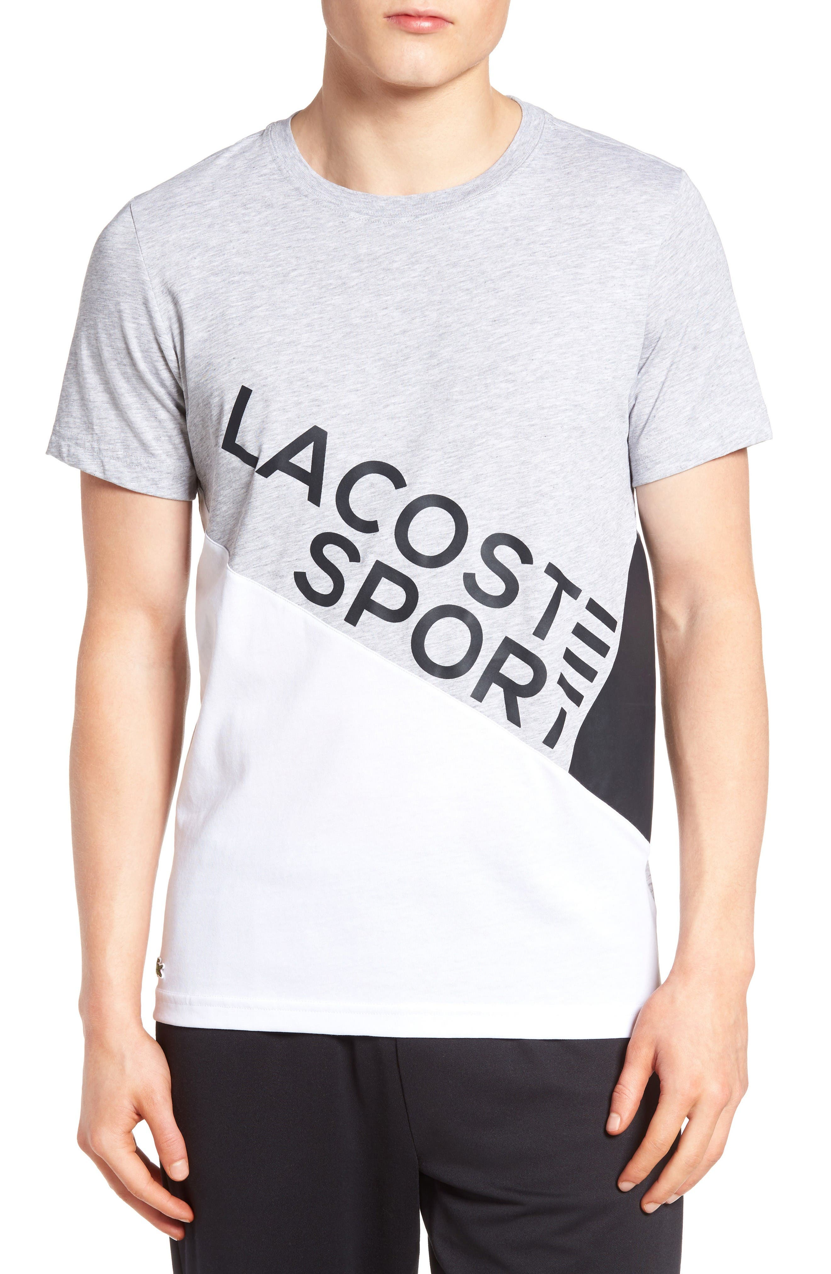 Lifestyle Sport Graphic T-Shirt,                         Main,                         color, Silver Chine/ White/ Black