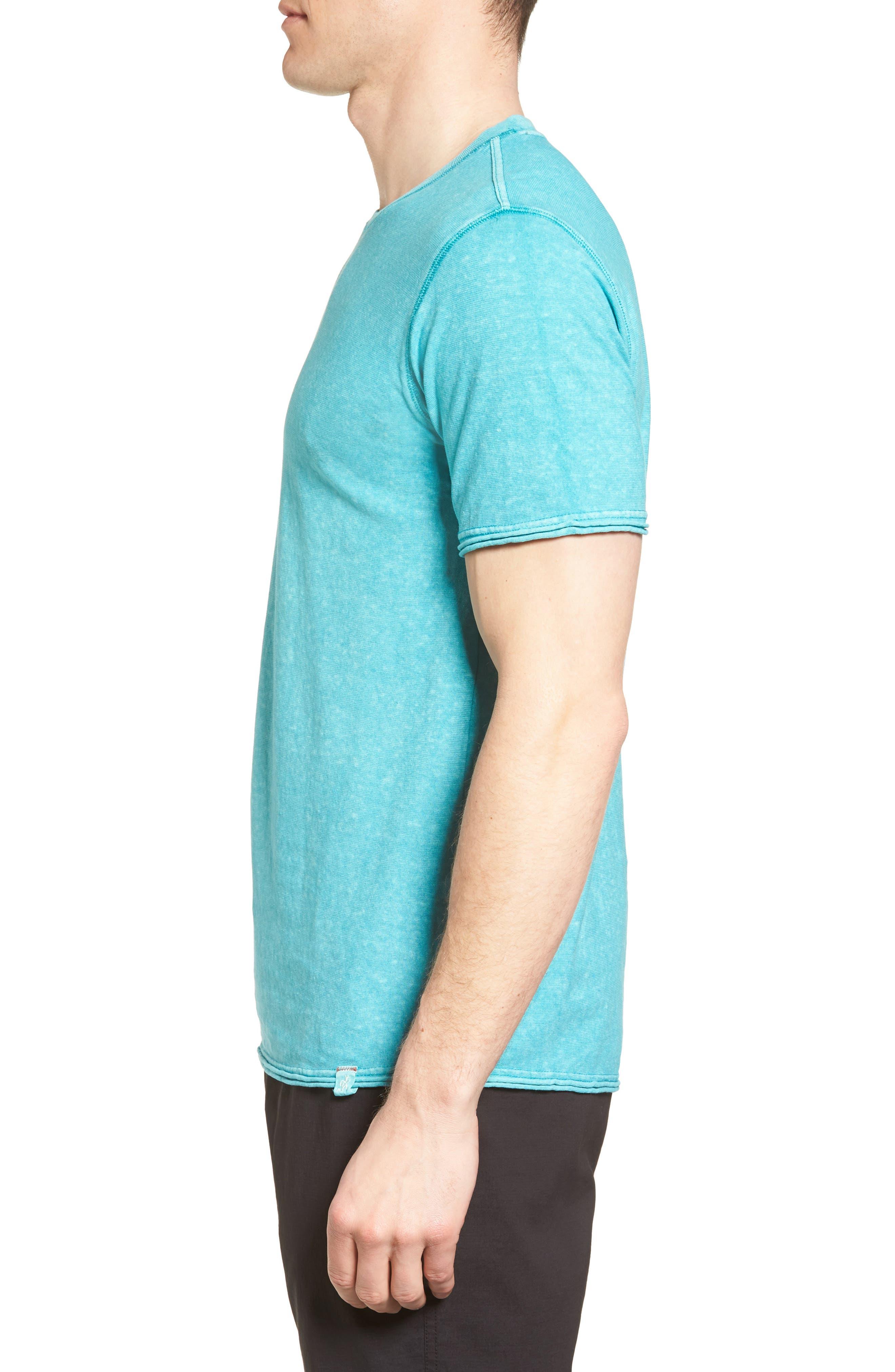 Camura T-Shirt,                             Alternate thumbnail 3, color,                             Fiji Blue