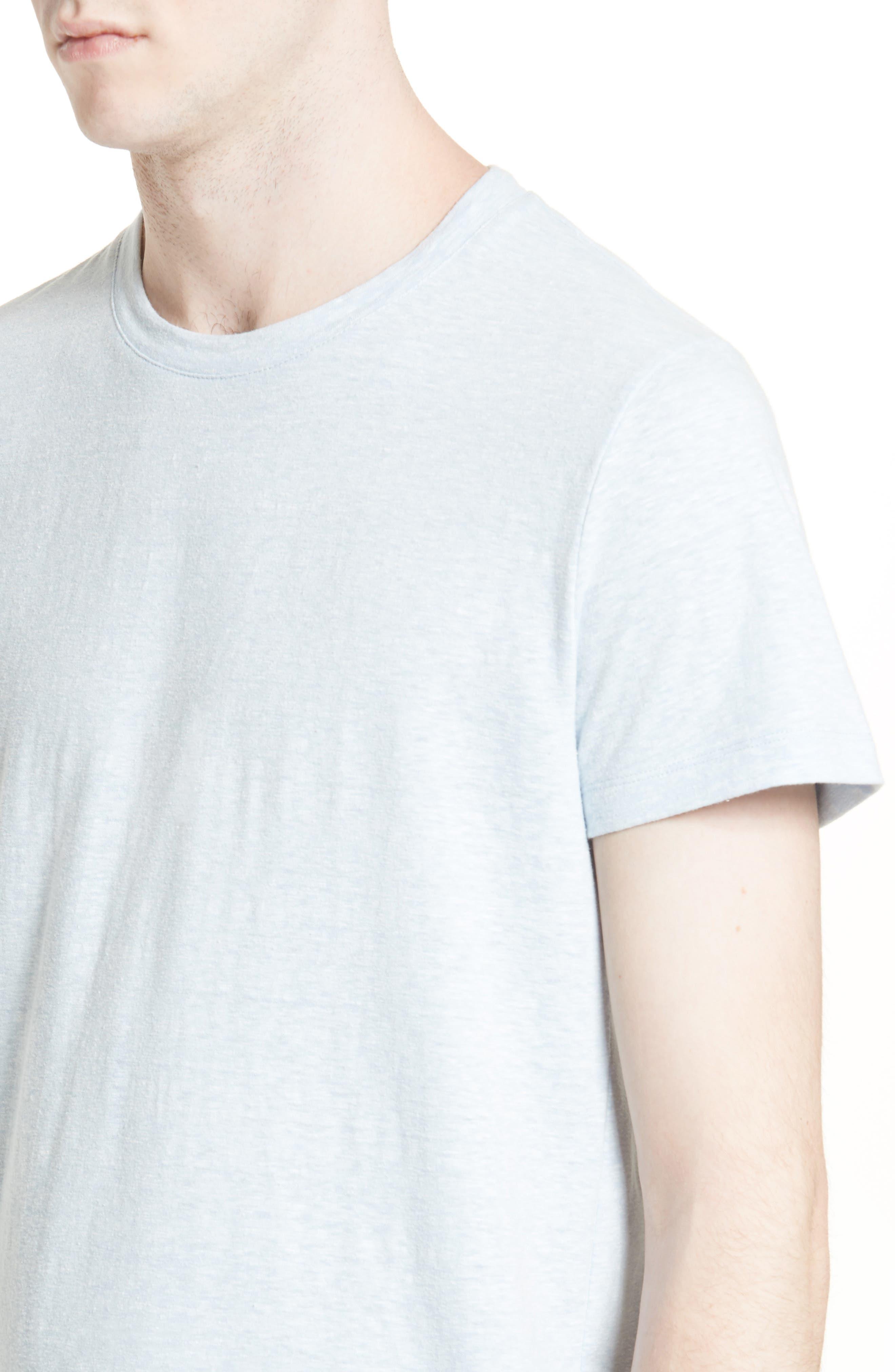 Jimmy T-Shirt,                             Alternate thumbnail 4, color,                             Blue