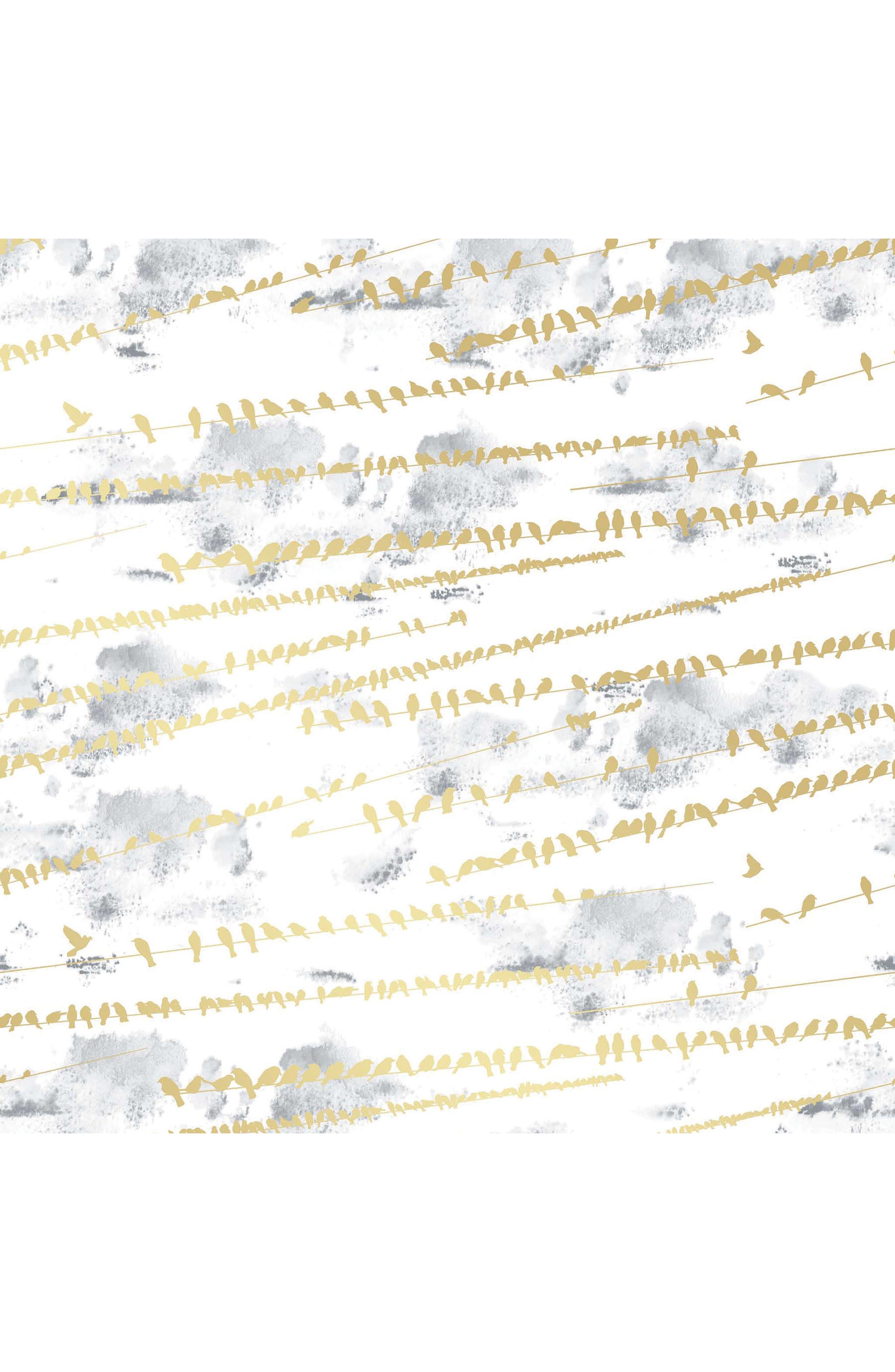 Tempaper Flock Self-Adhesive Vinyl Wallpaper