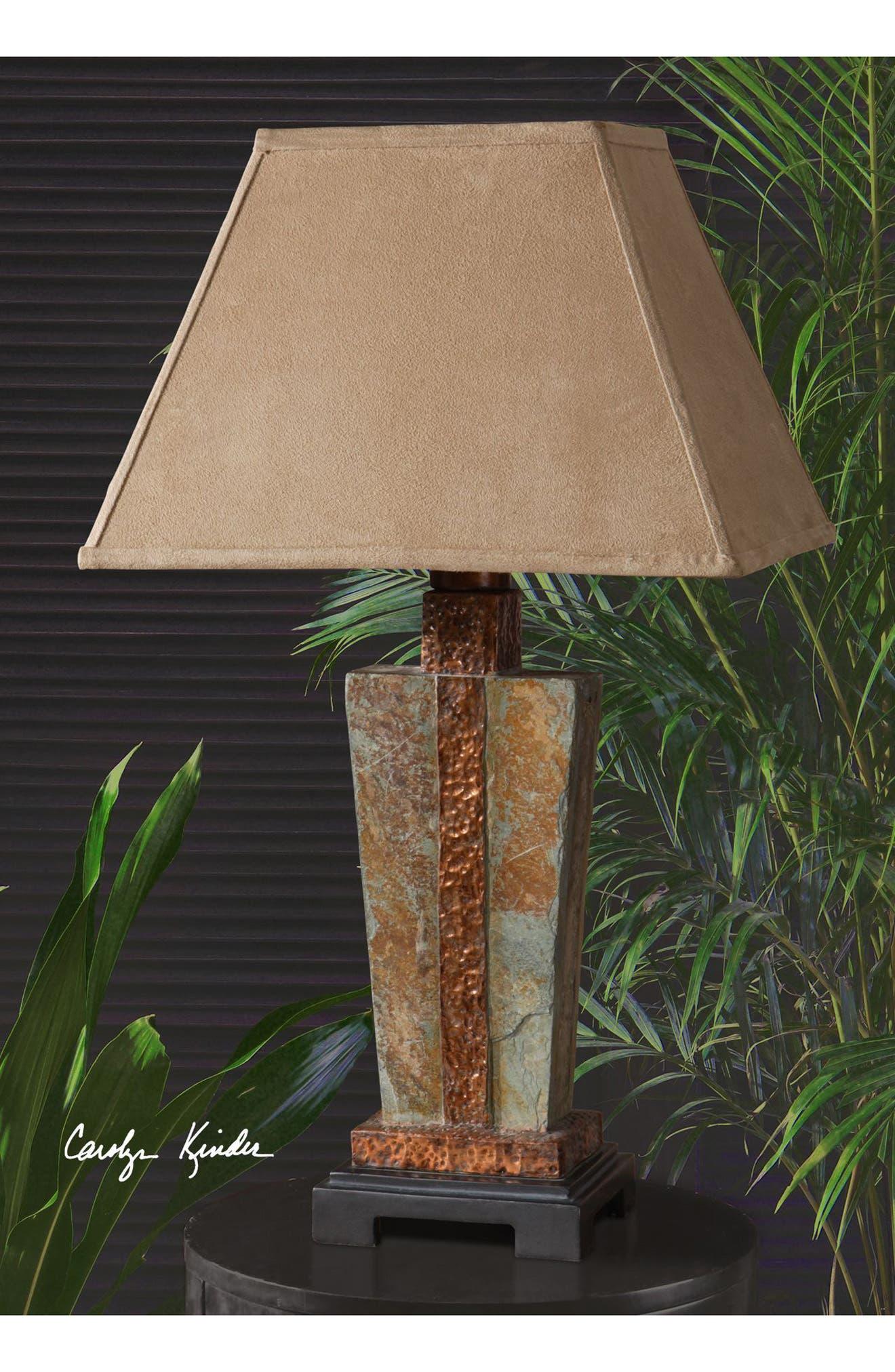 Alternate Image 2  - Uttermost Slate Table Lamp