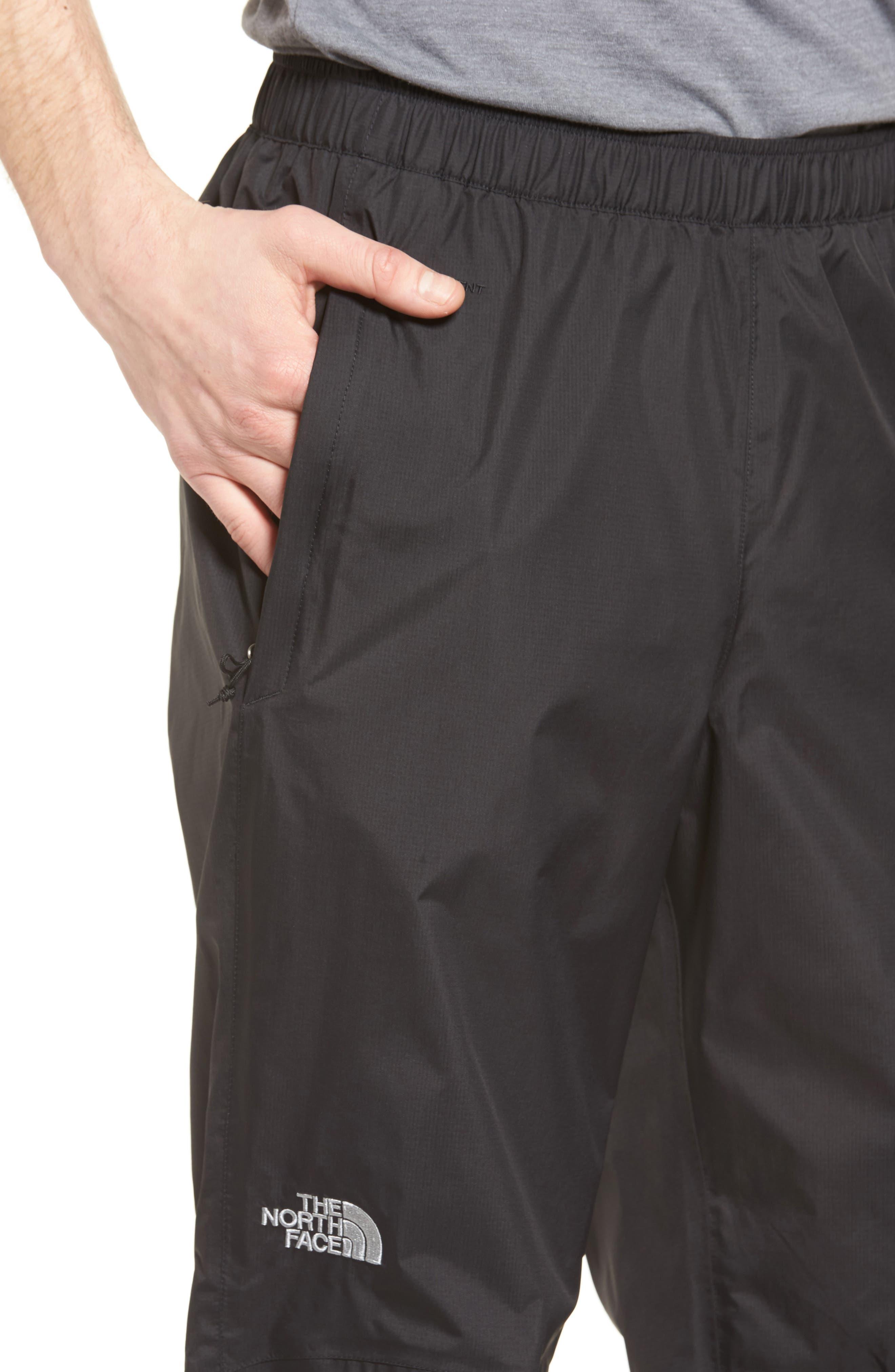 Venture Waterproof Pants,                             Alternate thumbnail 4, color,                             Black
