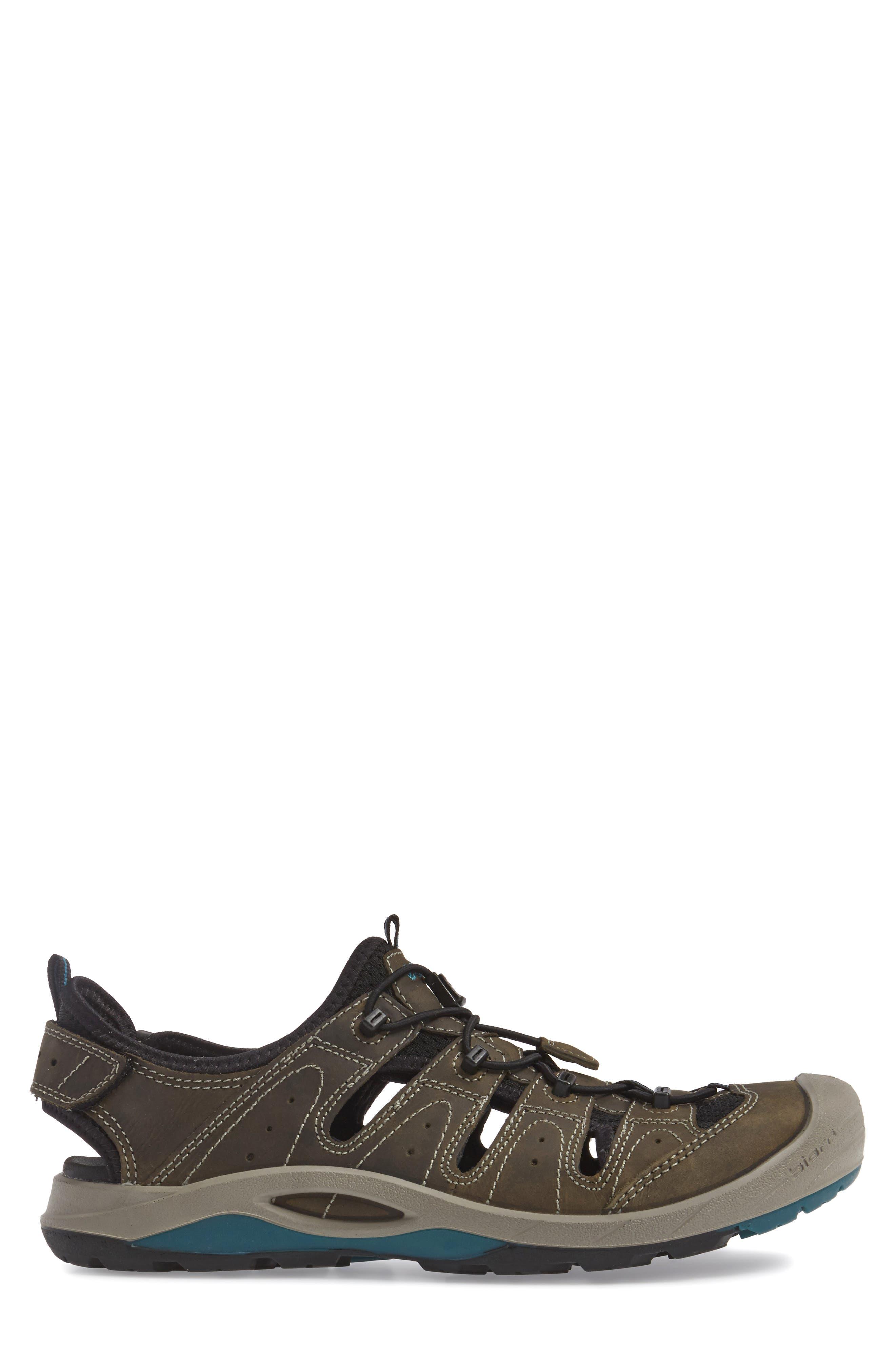 'BIOM Delta Offroad' Sandal,                             Alternate thumbnail 3, color,                             Tarmac/ Black