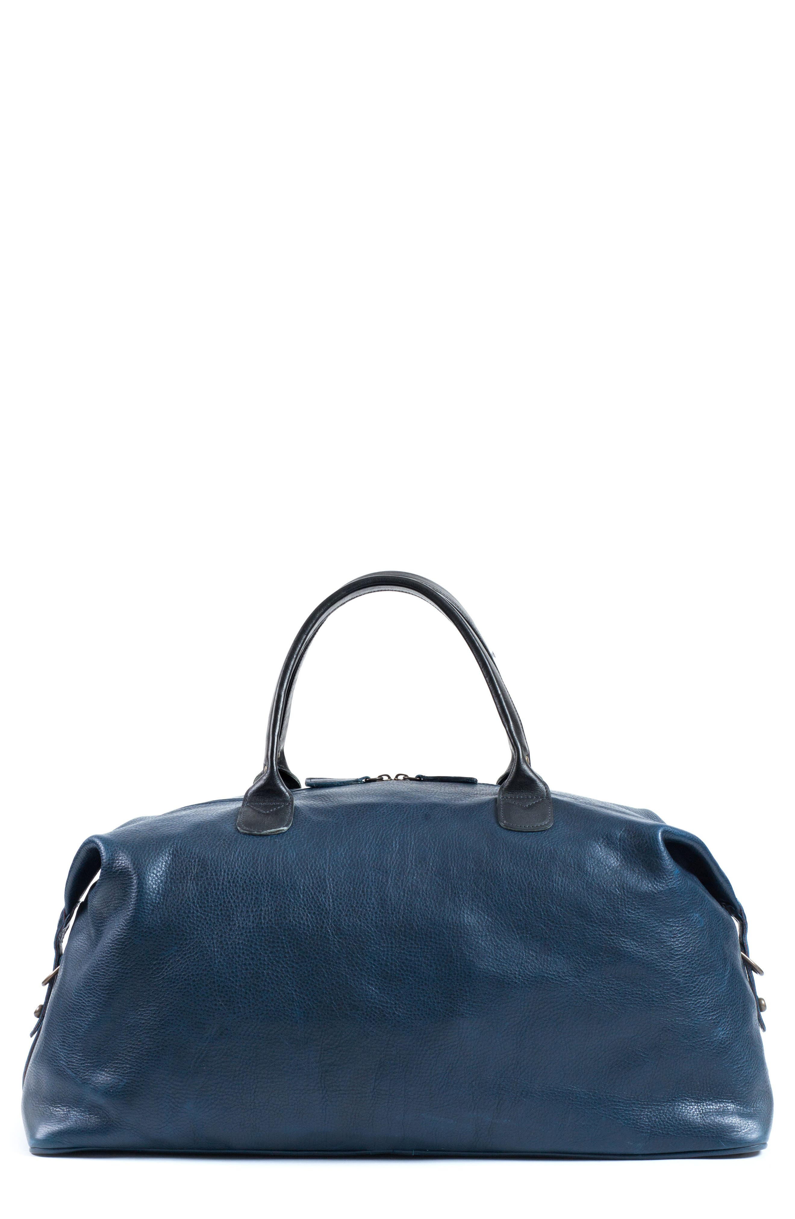 Moore & Giles Benedict Leather Duffel Bag