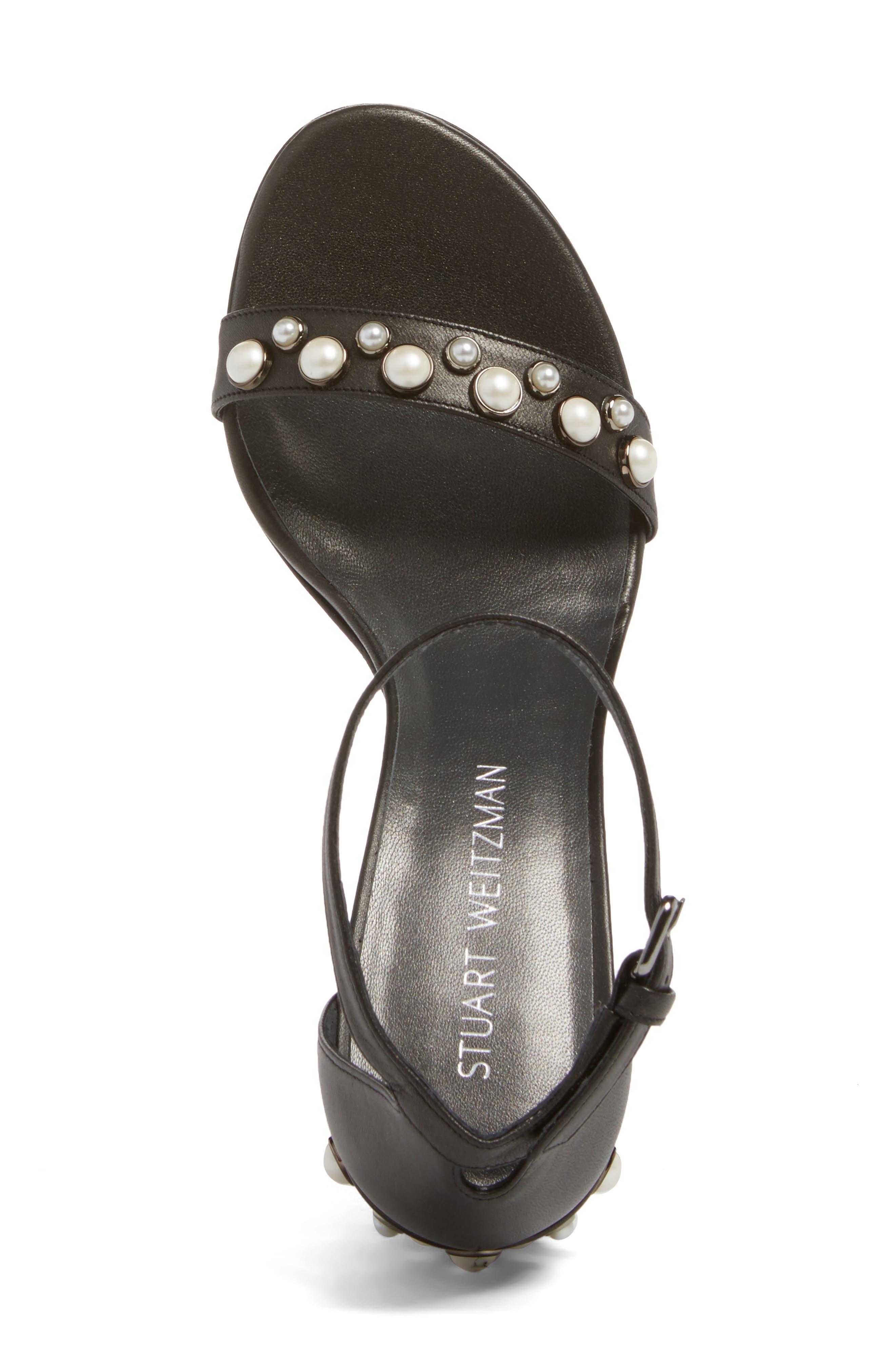 Alternate Image 5  - Stuart Weitzman Morepearls Sandal (Women)