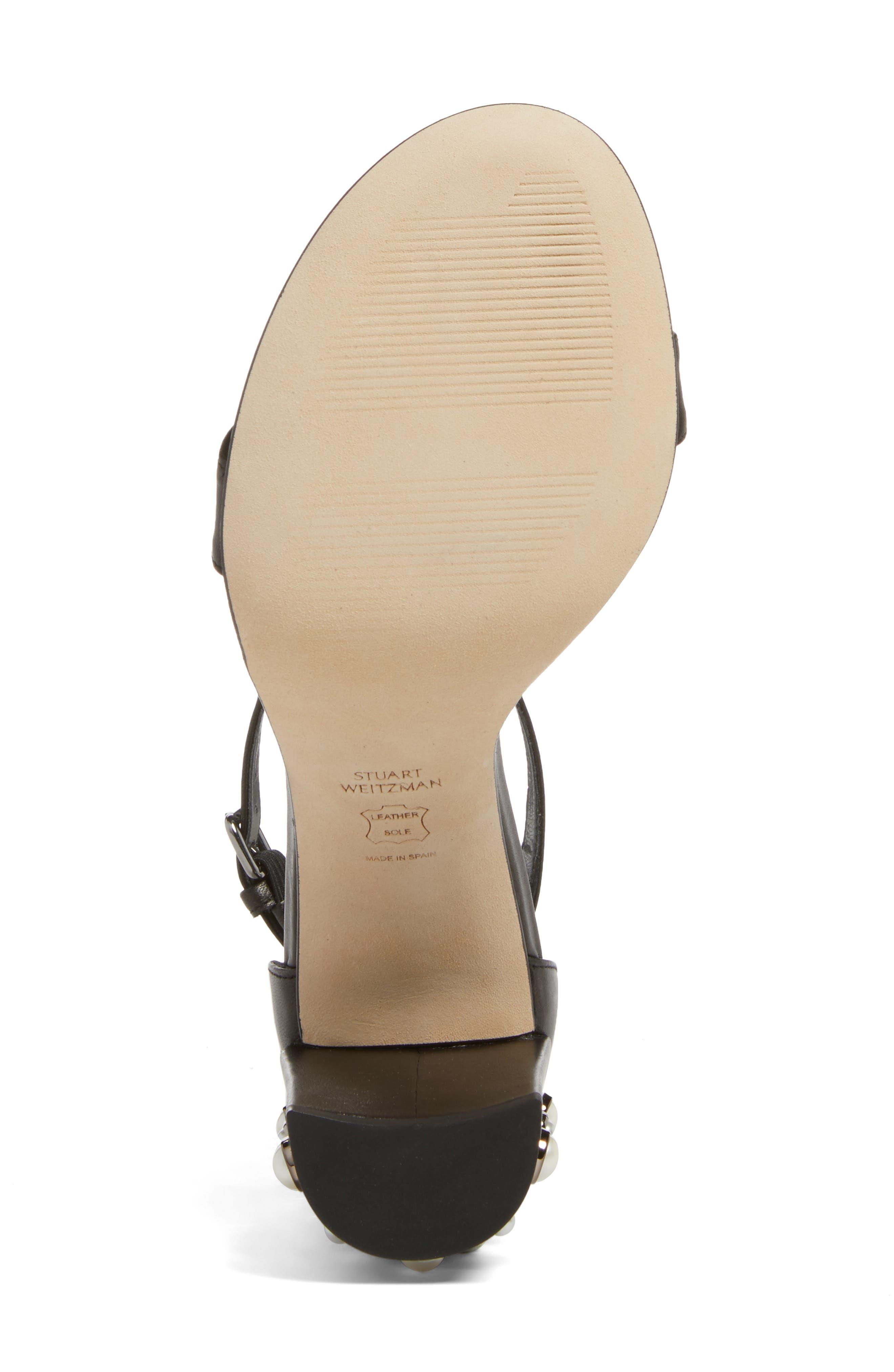 Alternate Image 6  - Stuart Weitzman Morepearls Sandal (Women)