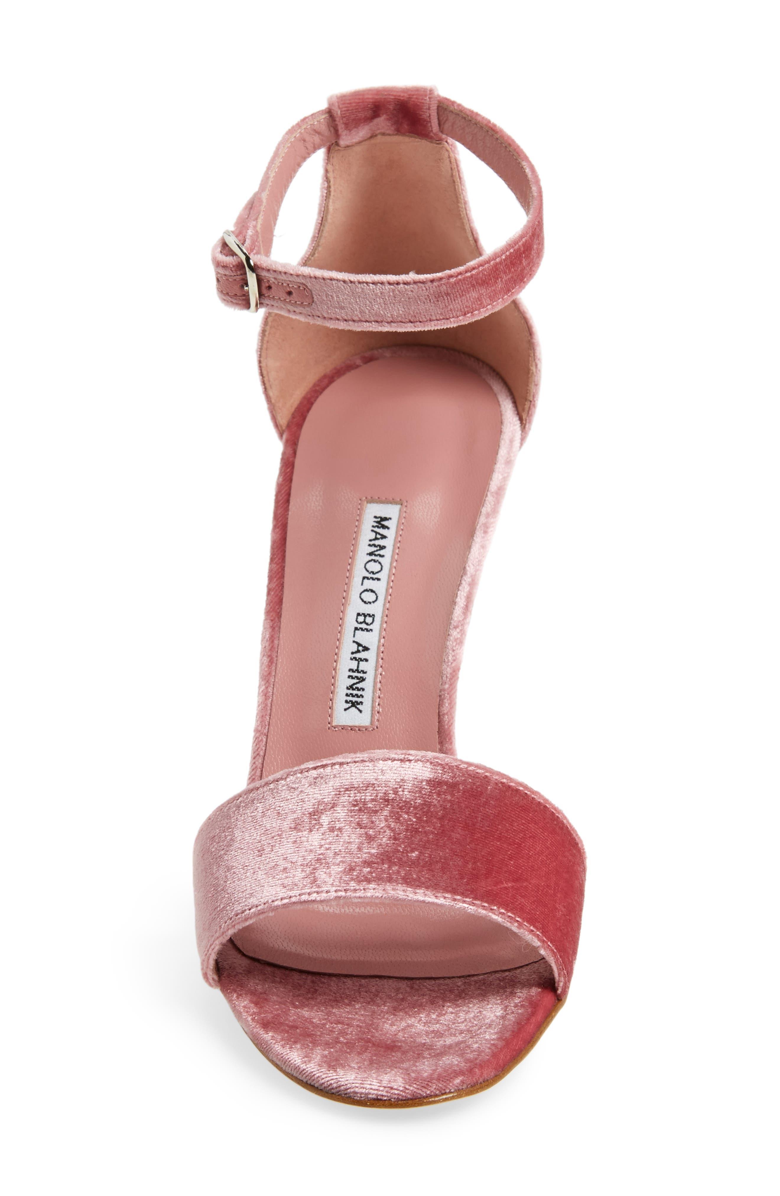 Alternate Image 4  - Manolo Blahnik Tres Sandal (Women)