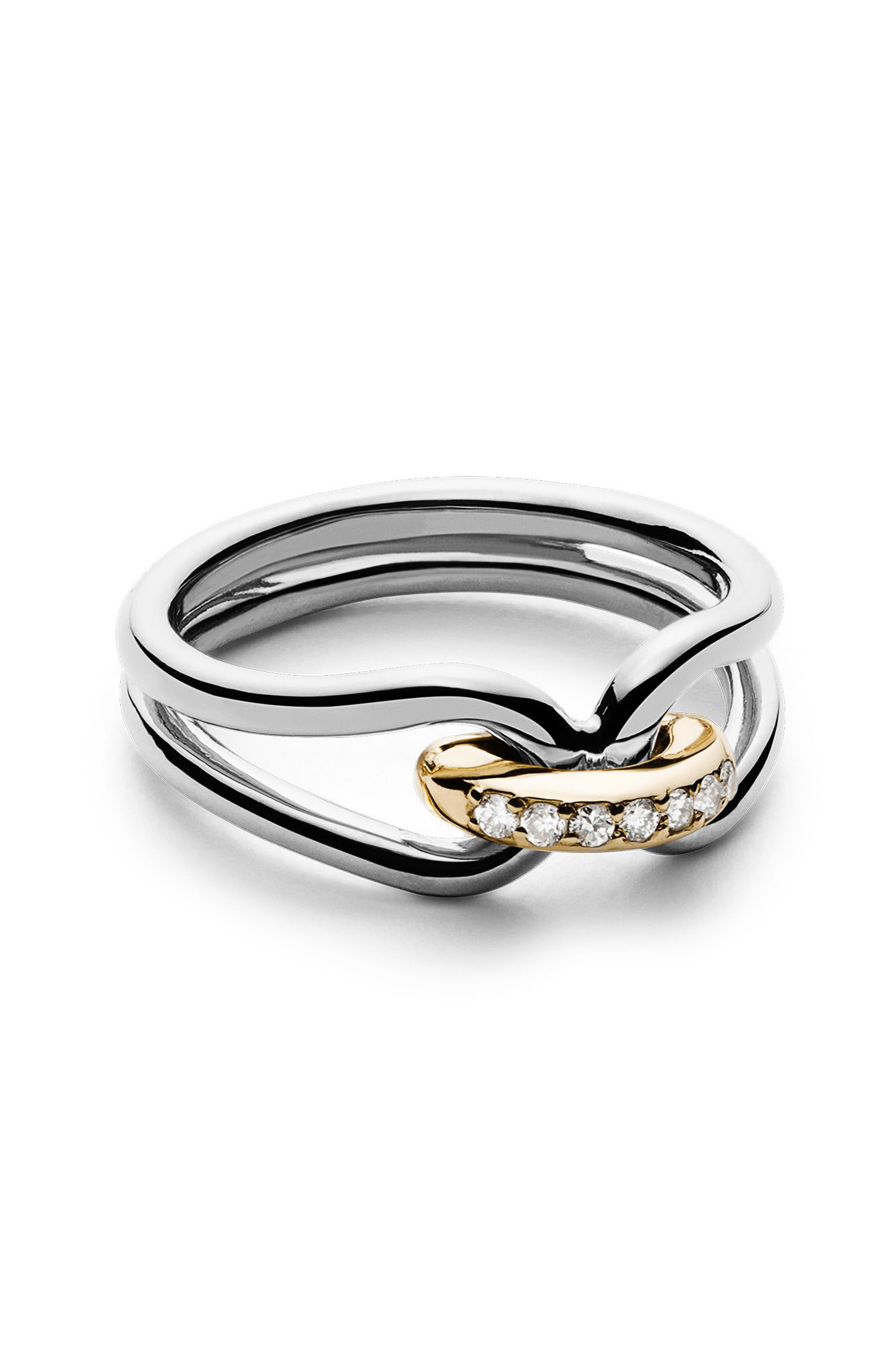 Lug Ring,                         Main,                         color, Silver