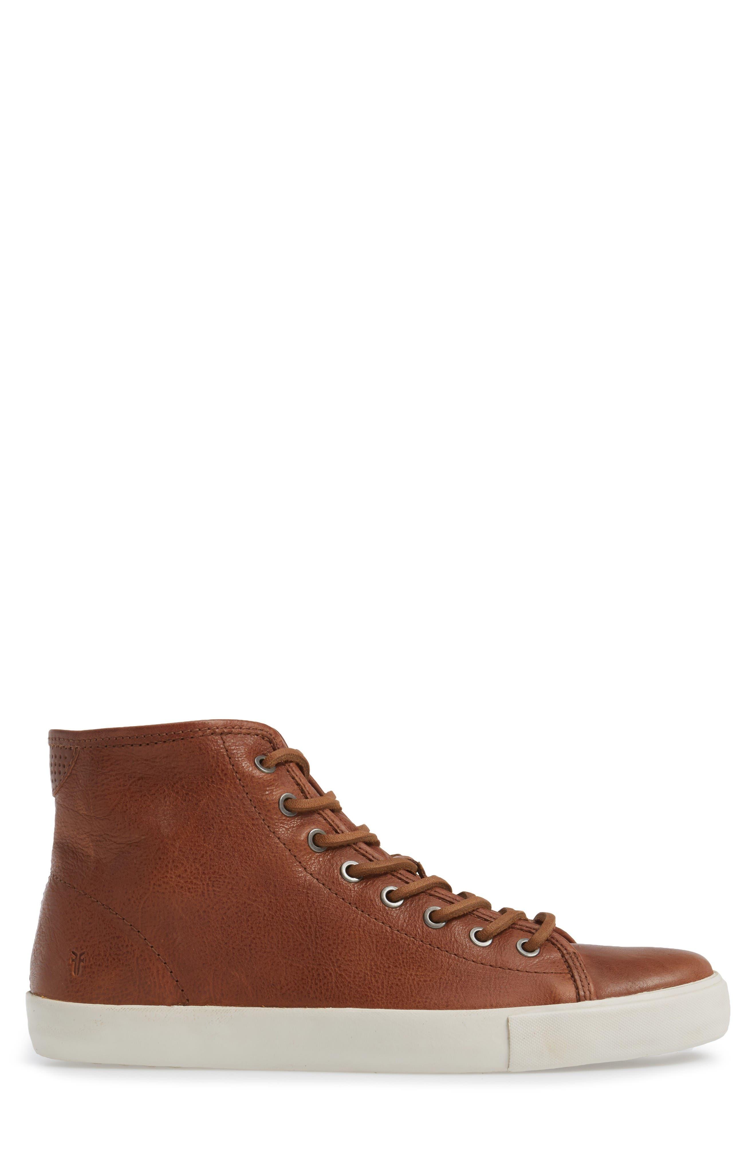 Brett High Top Sneaker,                             Alternate thumbnail 3, color,                             Copper