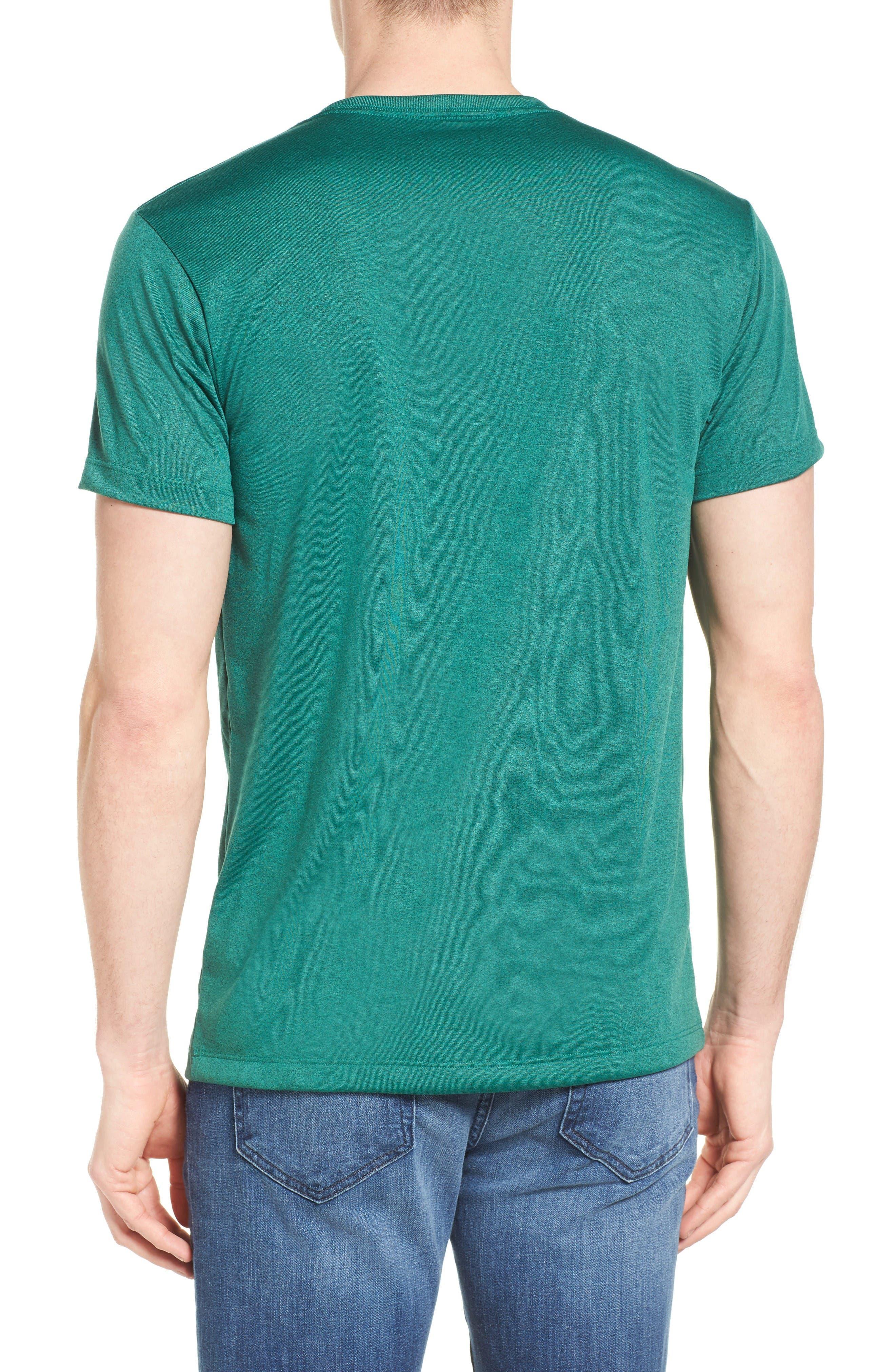 '73 Logo Slim Fit T-Shirt,                             Alternate thumbnail 2, color,                             Gem Green