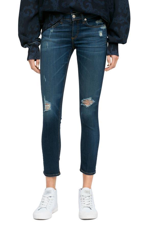 Main Image - rag & bone/JEAN Capri Skinny Jeans (Collette) - Rag & Bone/JEAN Capri Skinny Jeans (Collette) Nordstrom