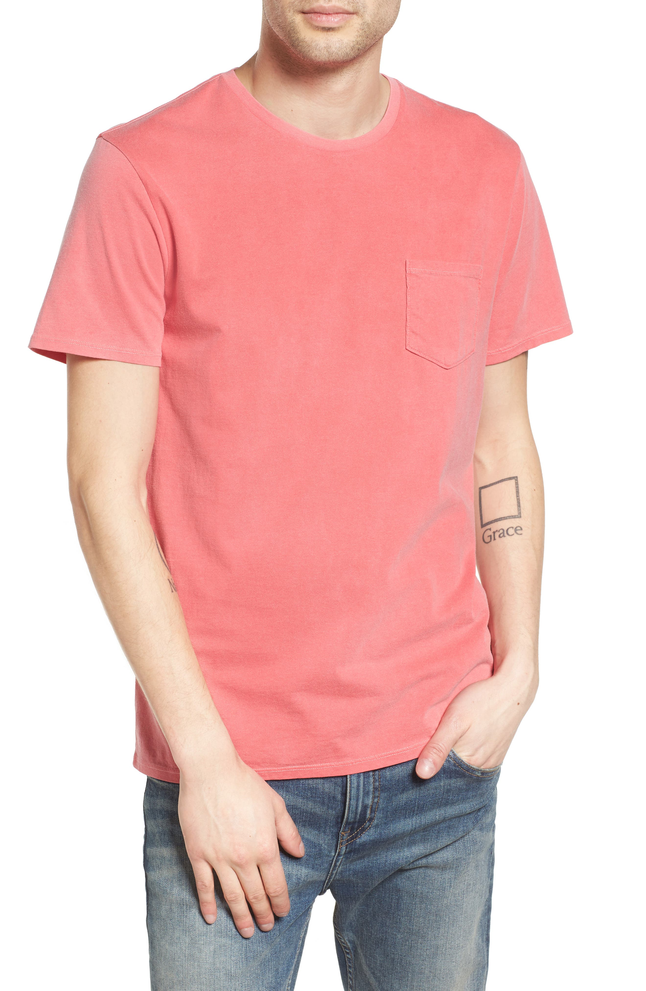 The Rail Garment Washed Pocket T-Shirt