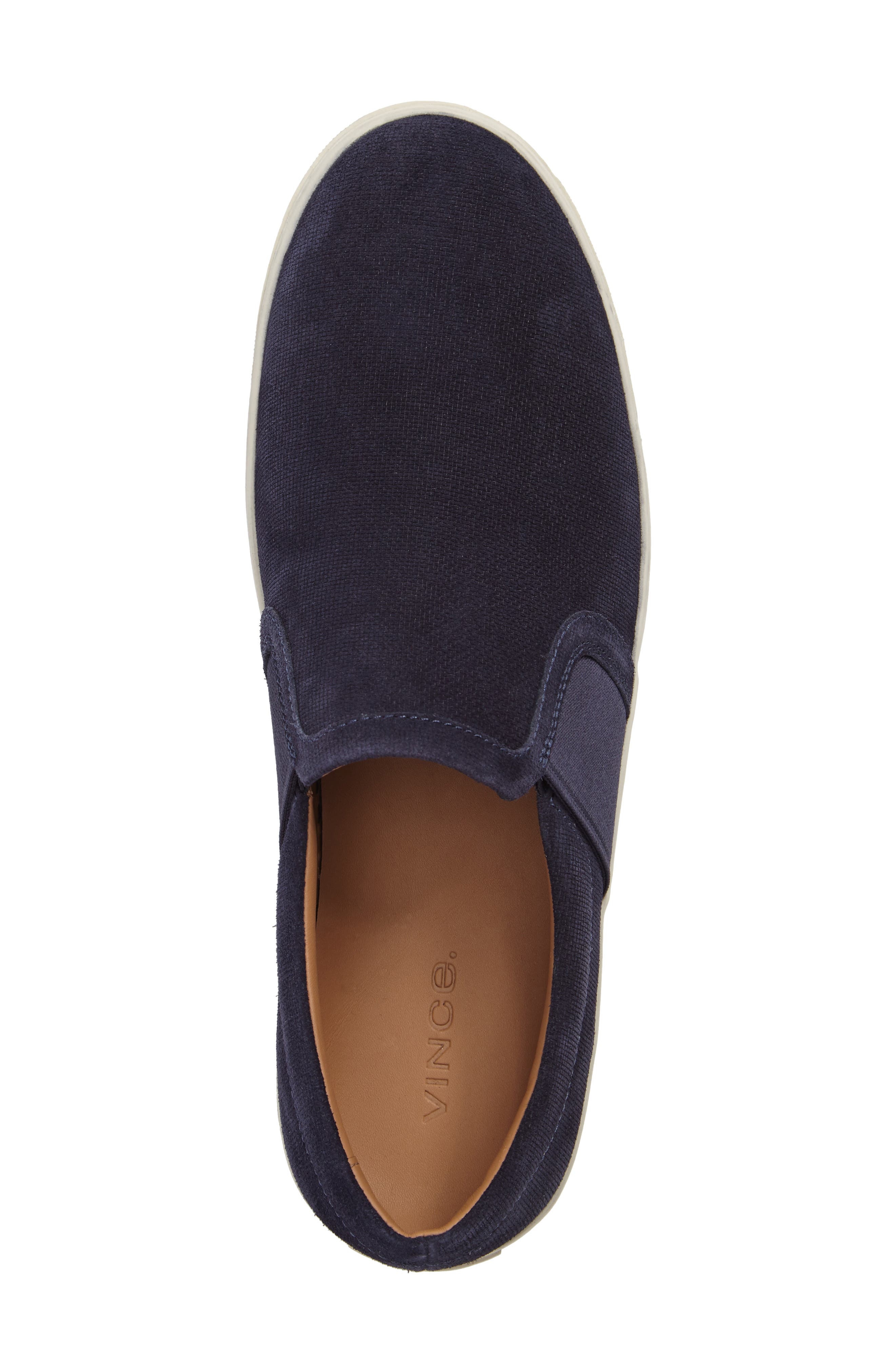 Adler Slip-On,                             Alternate thumbnail 5, color,                             Coastal Suede