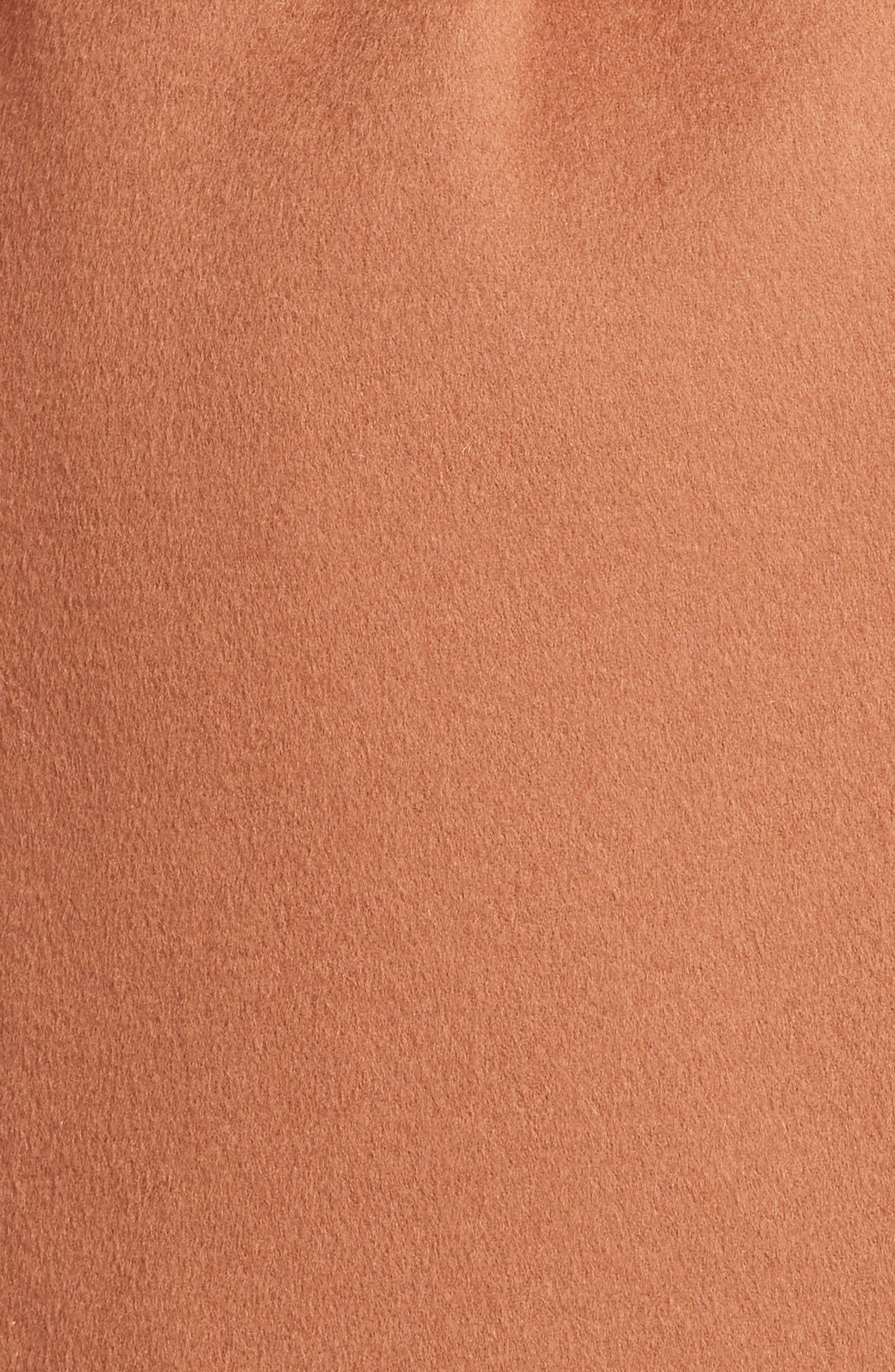 Alternate Image 6  - Vince Reversible Wool & Cashmere Belted Coat