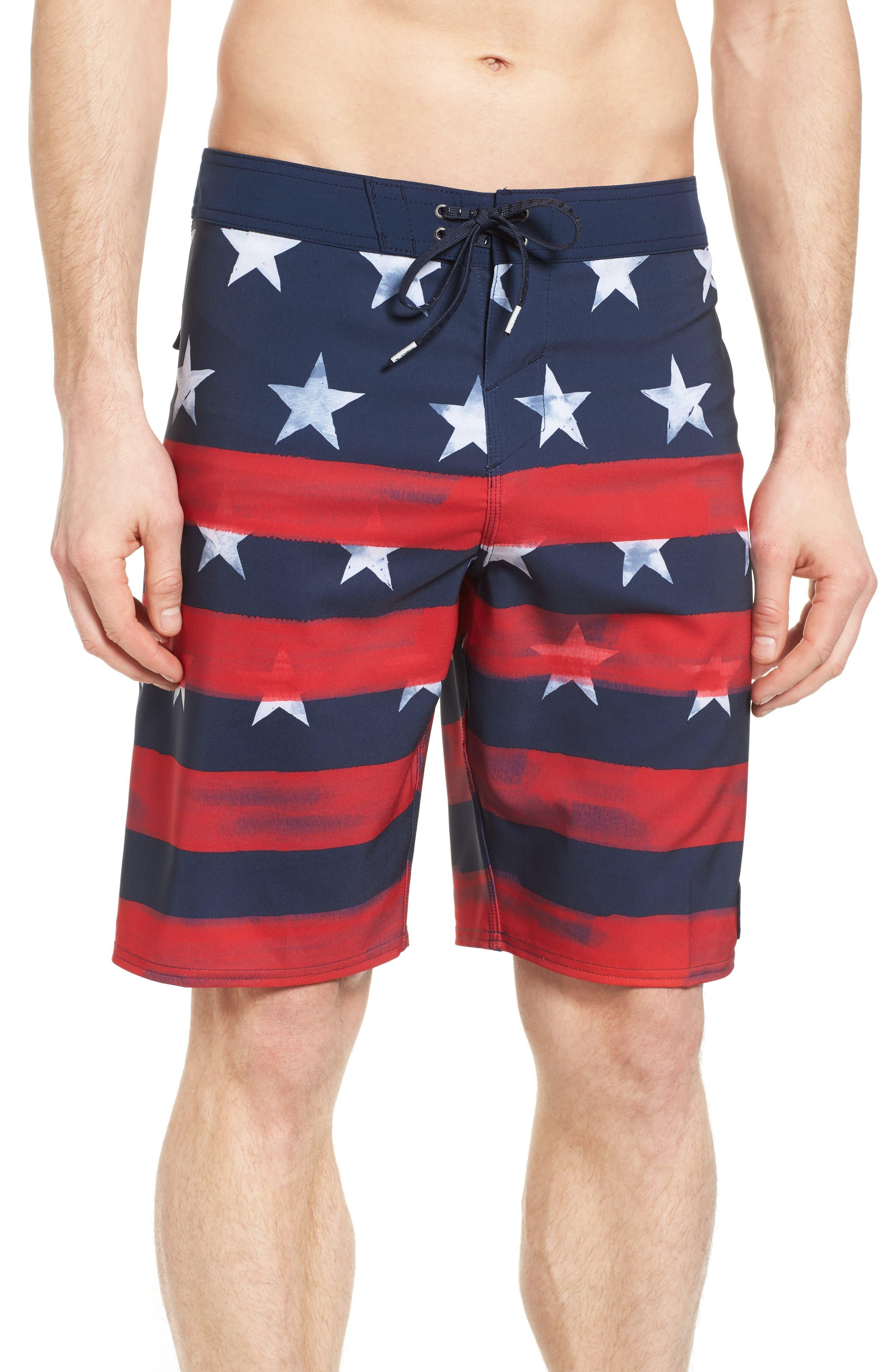 O'Neill Hyperfreak Star Spangled Board Shorts