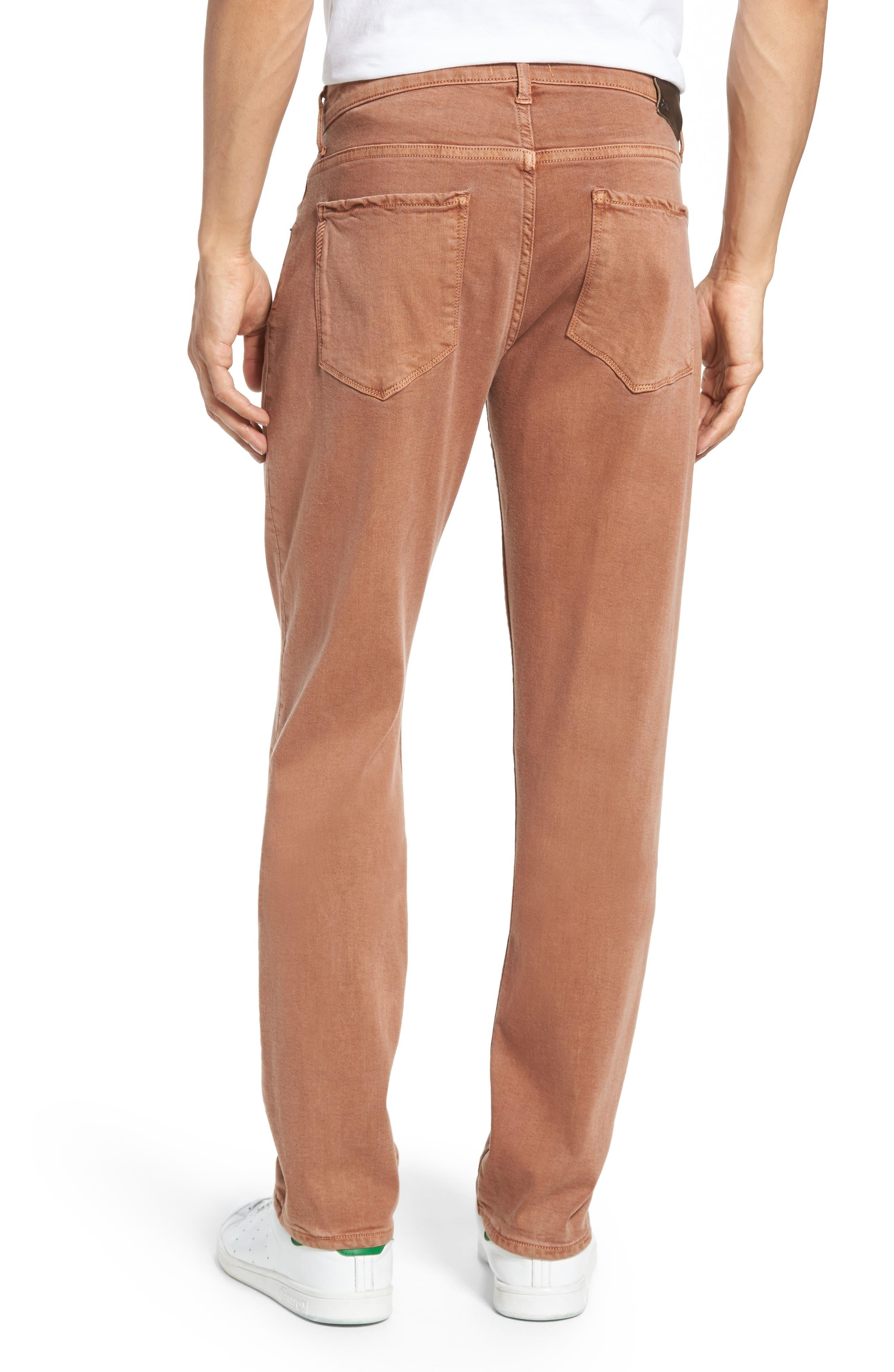 Alternate Image 2  - PAIGE Transcend - Federal Slim Straight Leg Jeans (Vintage Bronzed)