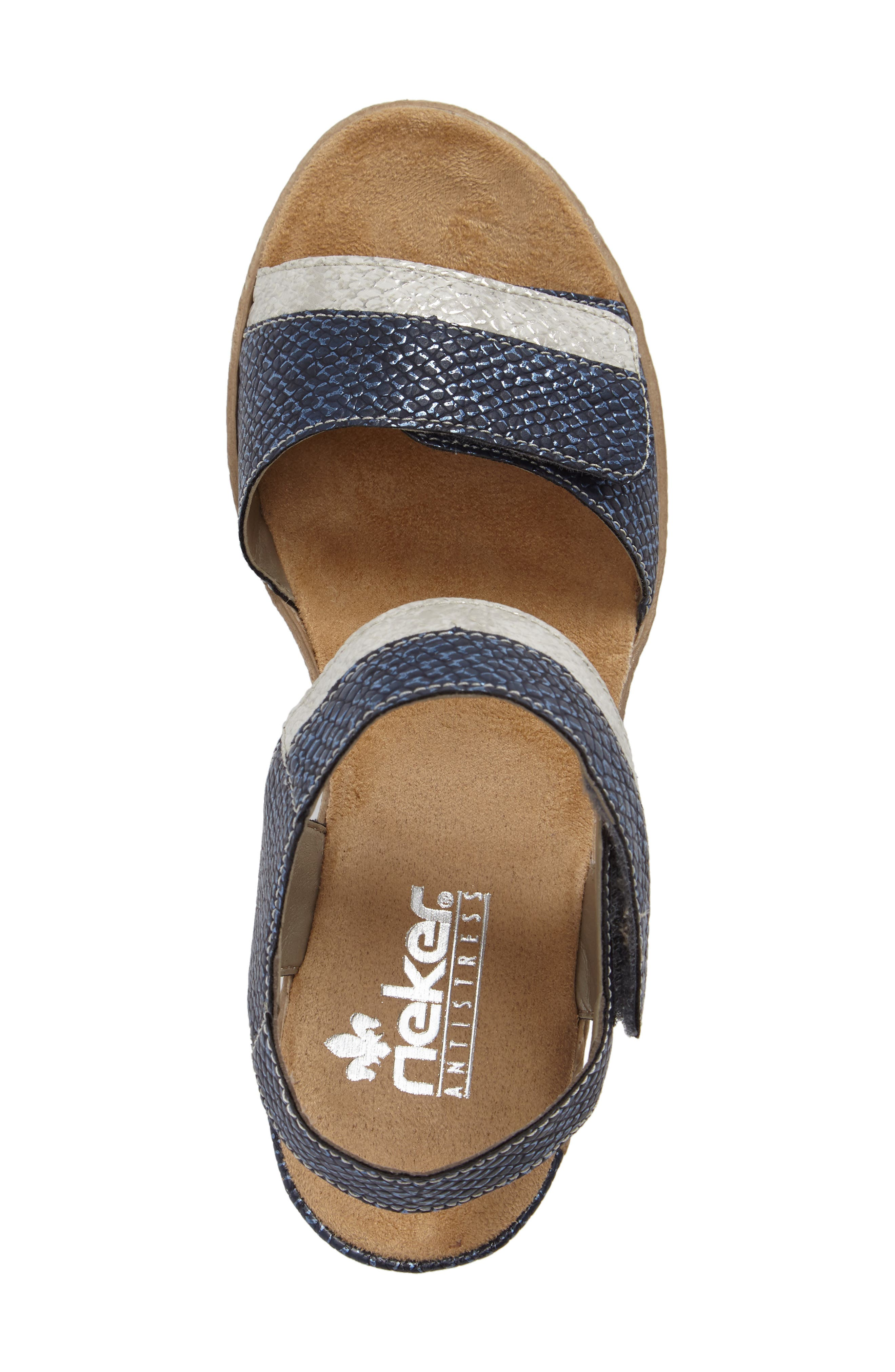 Alternate Image 5  - Rieker Antistress Fanni 70 Wedge Sandal (Women)
