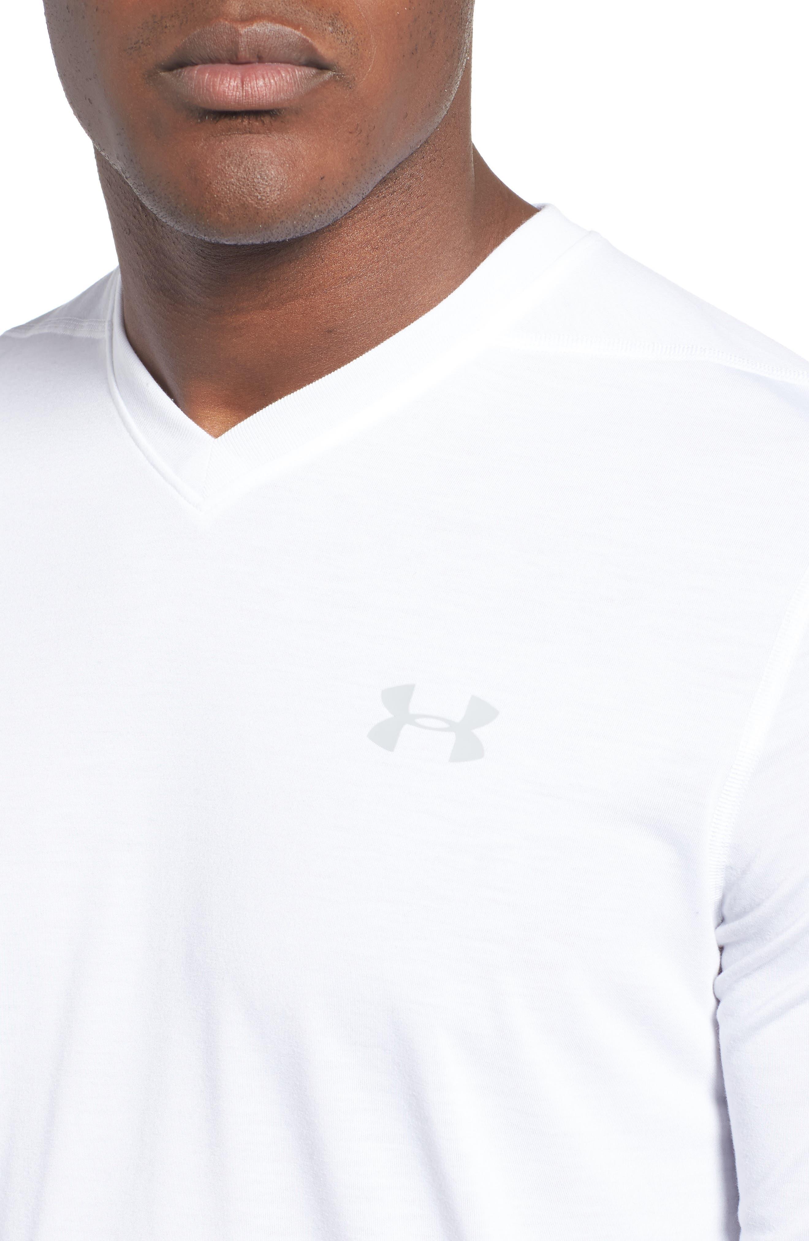 Alternate Image 5  - Under Armour Regular Fit Threadborne T-Shirt