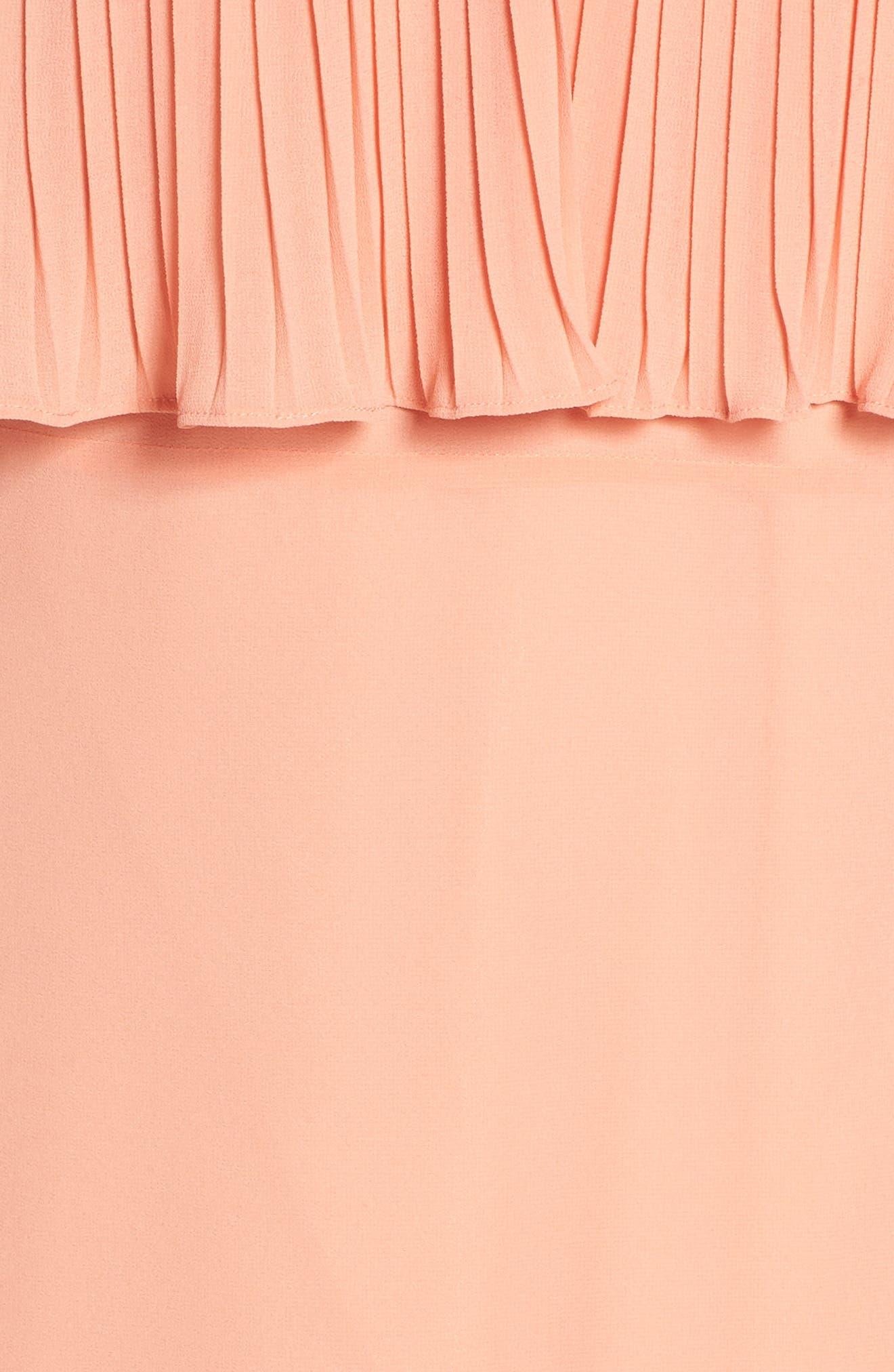 Moroccan Villa Maxi Dress,                             Alternate thumbnail 6, color,                             Desert Sunset