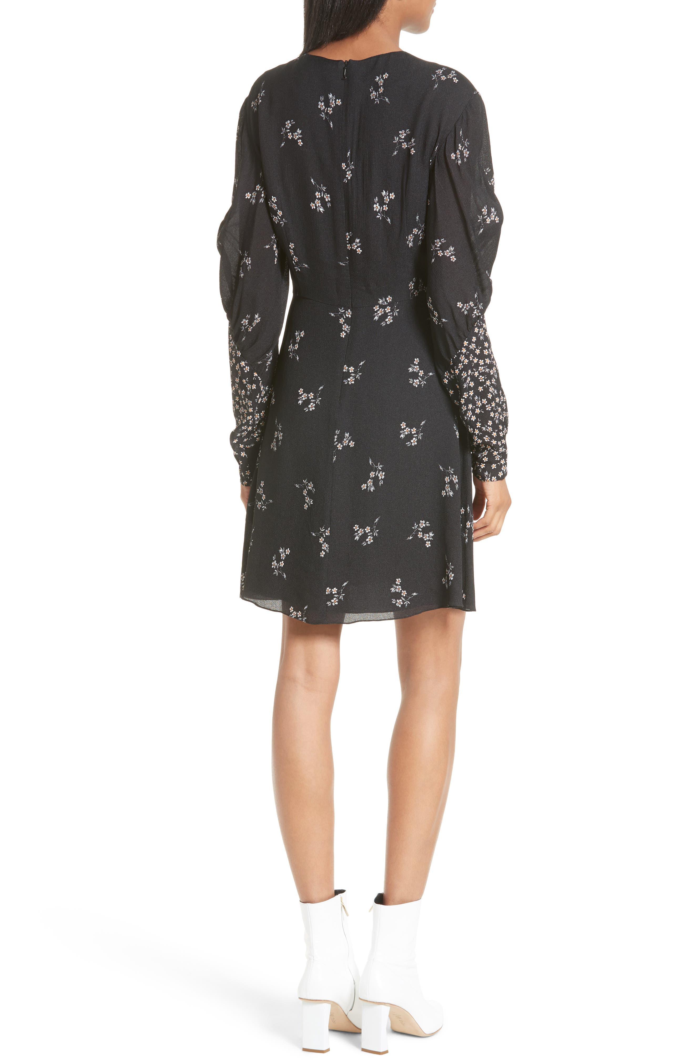 Alternate Image 2  - Tibi Lila Floral A-Line Dress