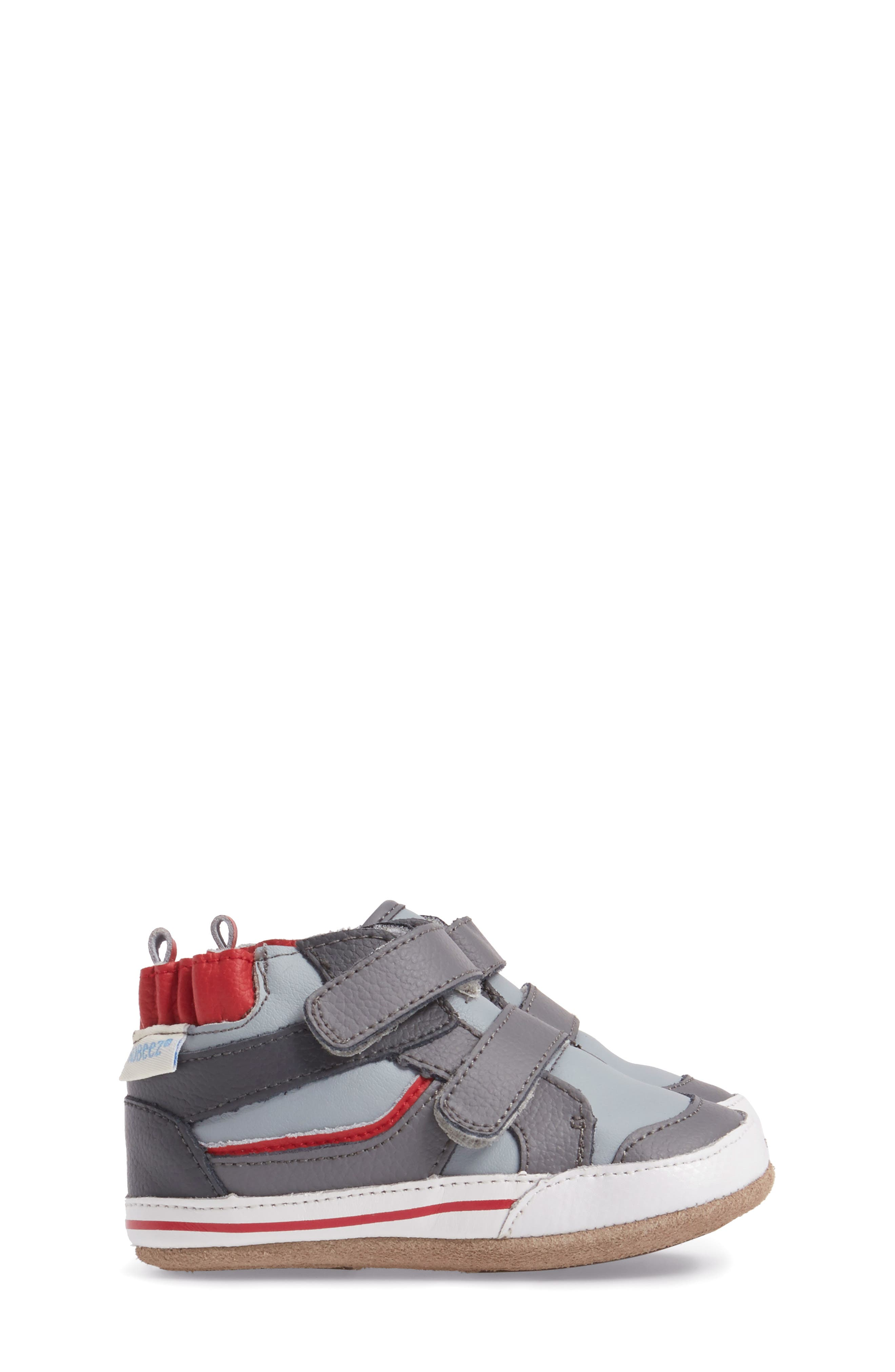 Greg Crib Shoe,                             Alternate thumbnail 3, color,                             Grey