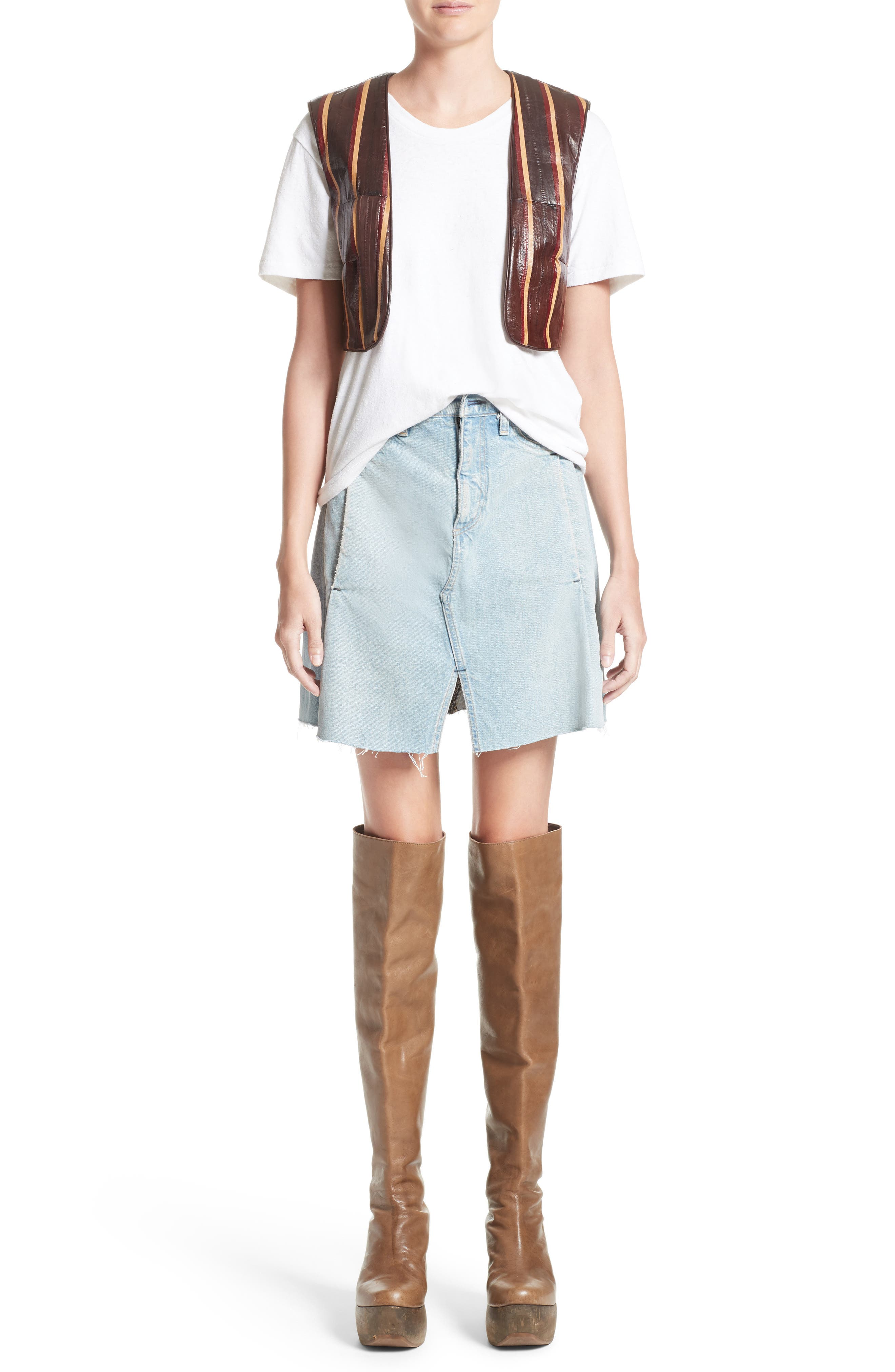 Alternate Image 7  - Simon Miller Denim Skirt (Nordstrom Exclusive)