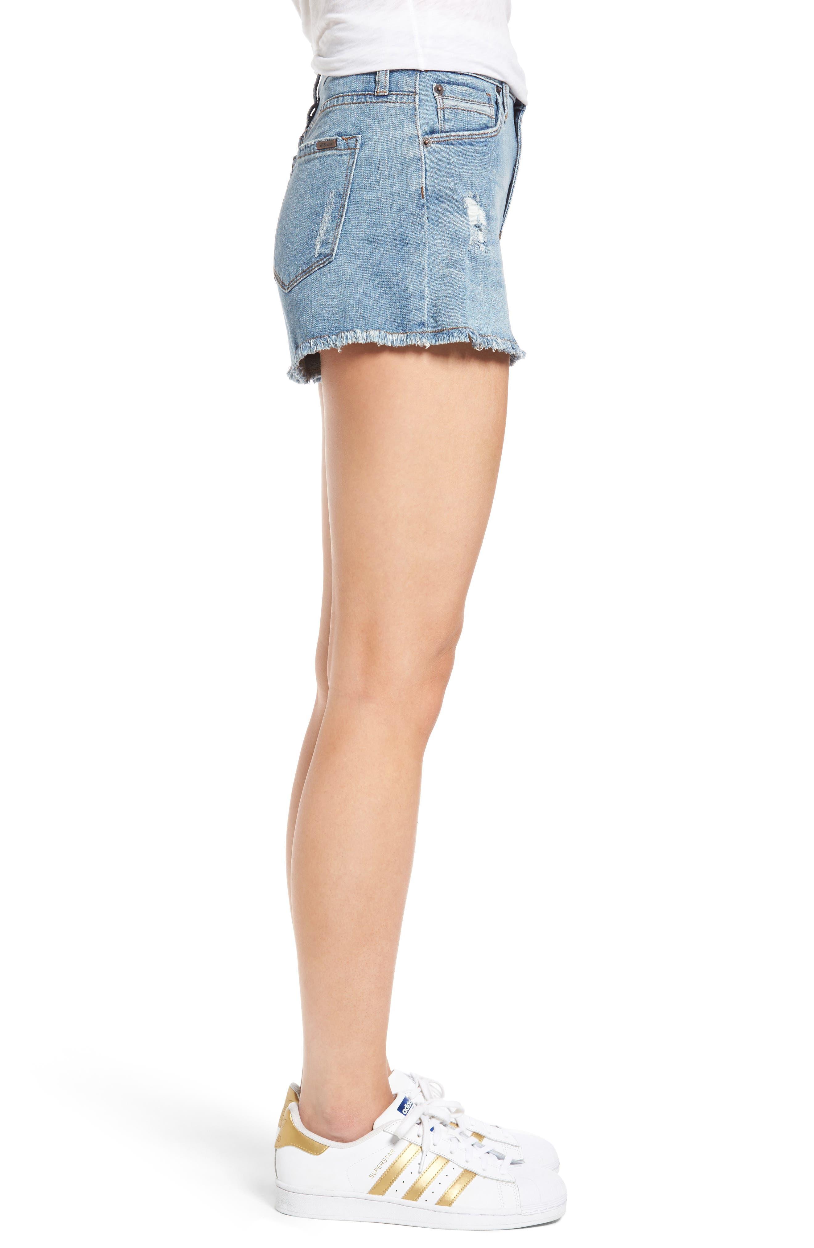 Alternate Image 3  - STS Blue Rose Bowl Denim Shorts (Westmoreland)