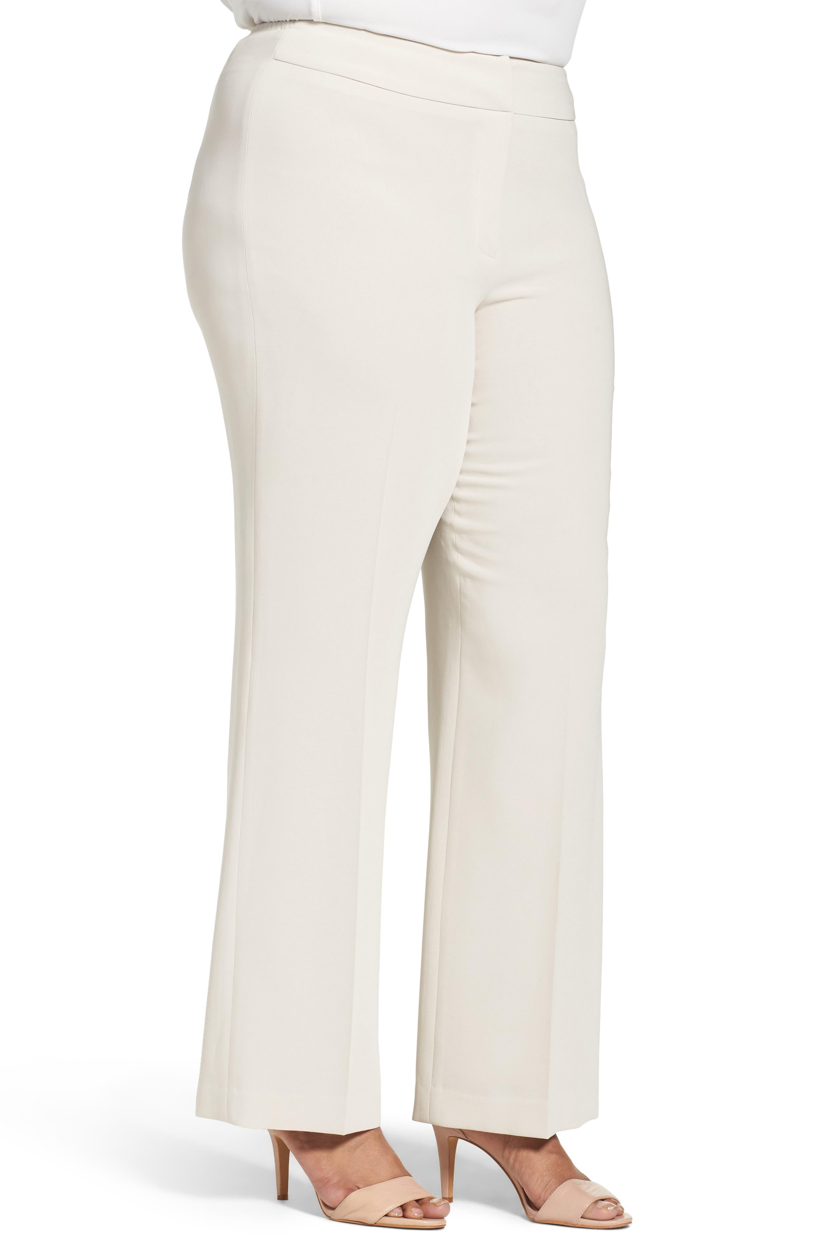 Alternate Image 3  - Louben Suit Pants (Plus Size)